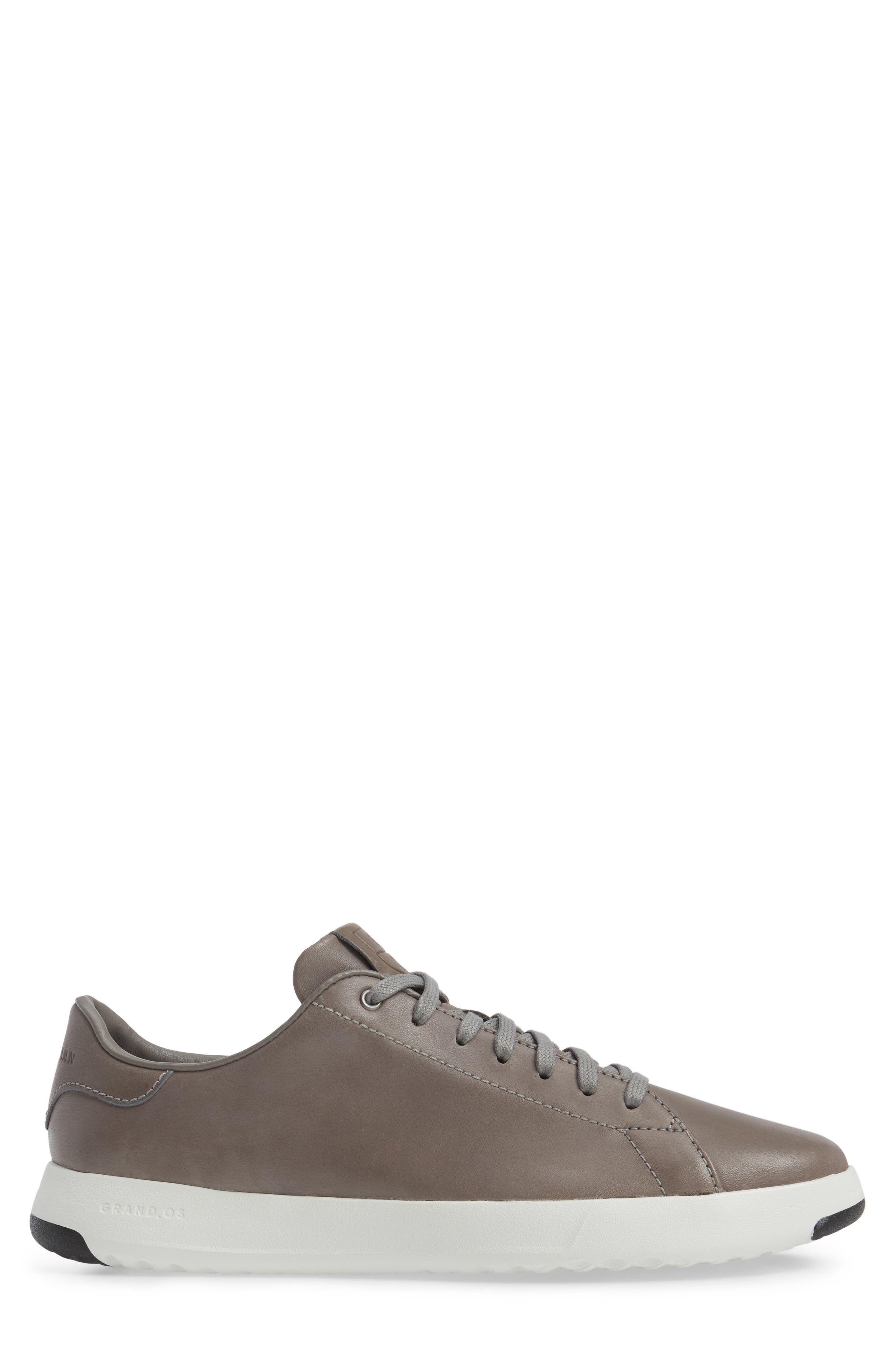 GrandPro Tennis Sneaker,                             Alternate thumbnail 3, color,                             IRONCLOUD LEATHER