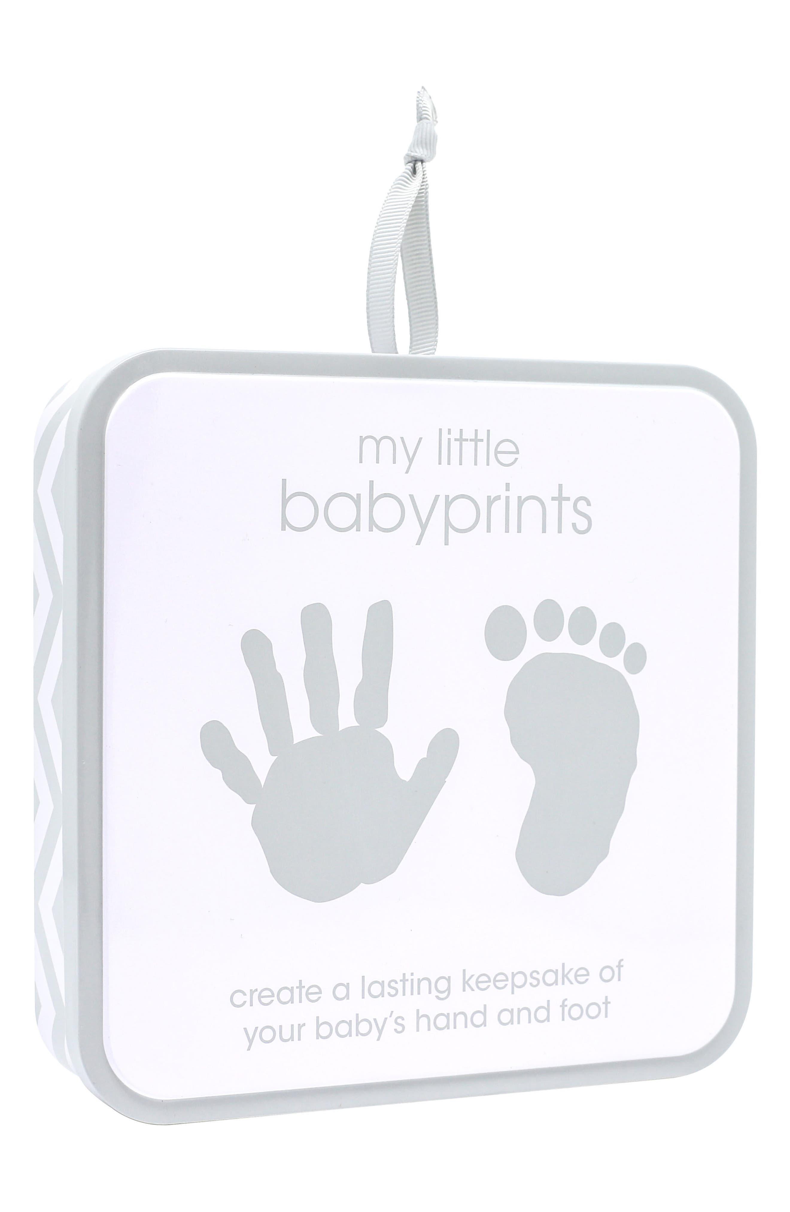 My Little Babyprints Tin,                             Alternate thumbnail 2, color,                             GREY