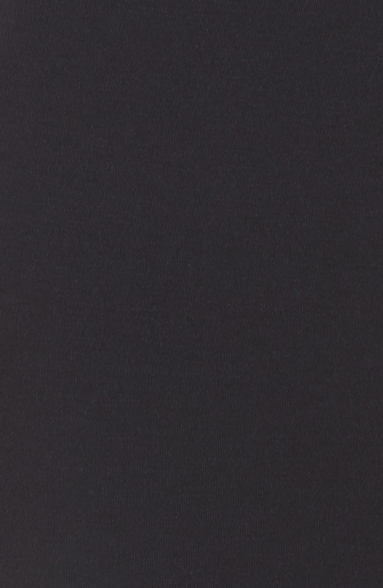 NIKE,                             Dry Studio Training Pants,                             Alternate thumbnail 6, color,                             BLACK/ BLACK