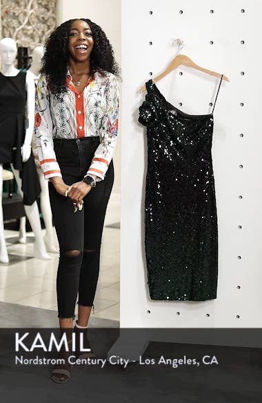 One-Shoulder Midi Dress, sales video thumbnail