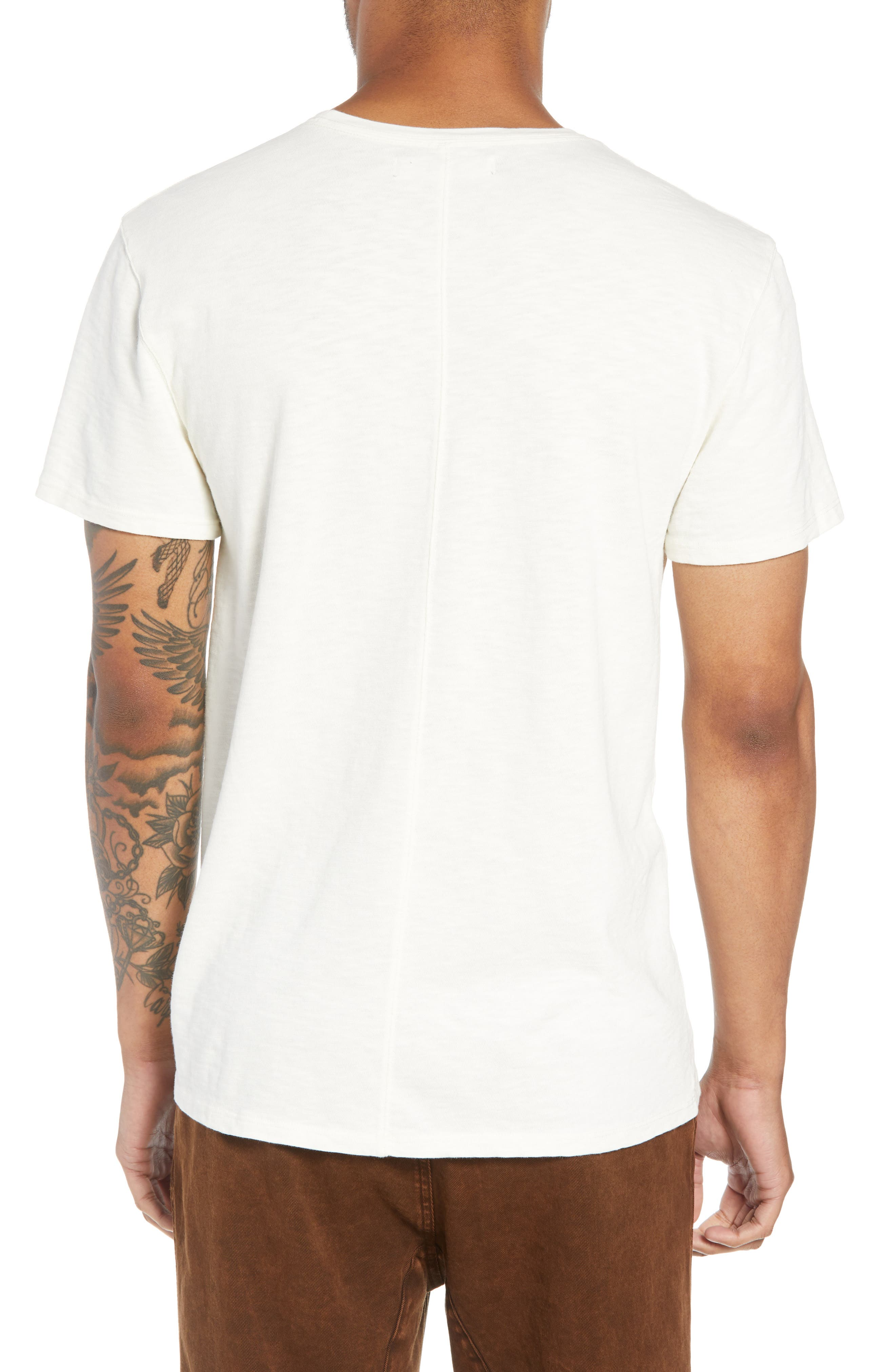 Pocket T-Shirt,                             Alternate thumbnail 2, color,                             DIRTY WHITE
