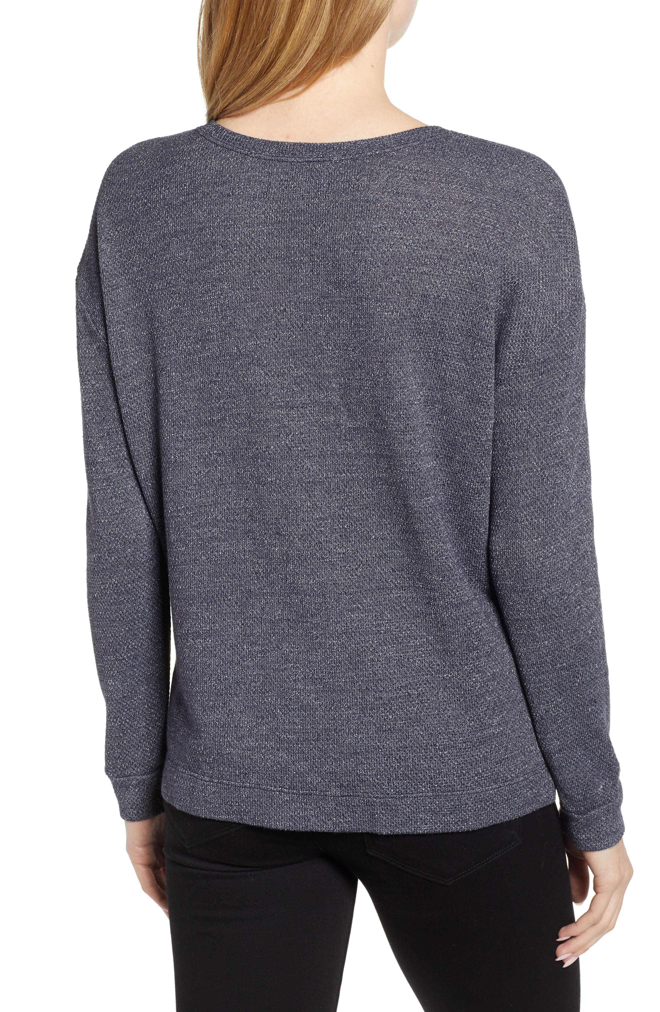 Thermal Pullover,                             Alternate thumbnail 2, color,                             CADET
