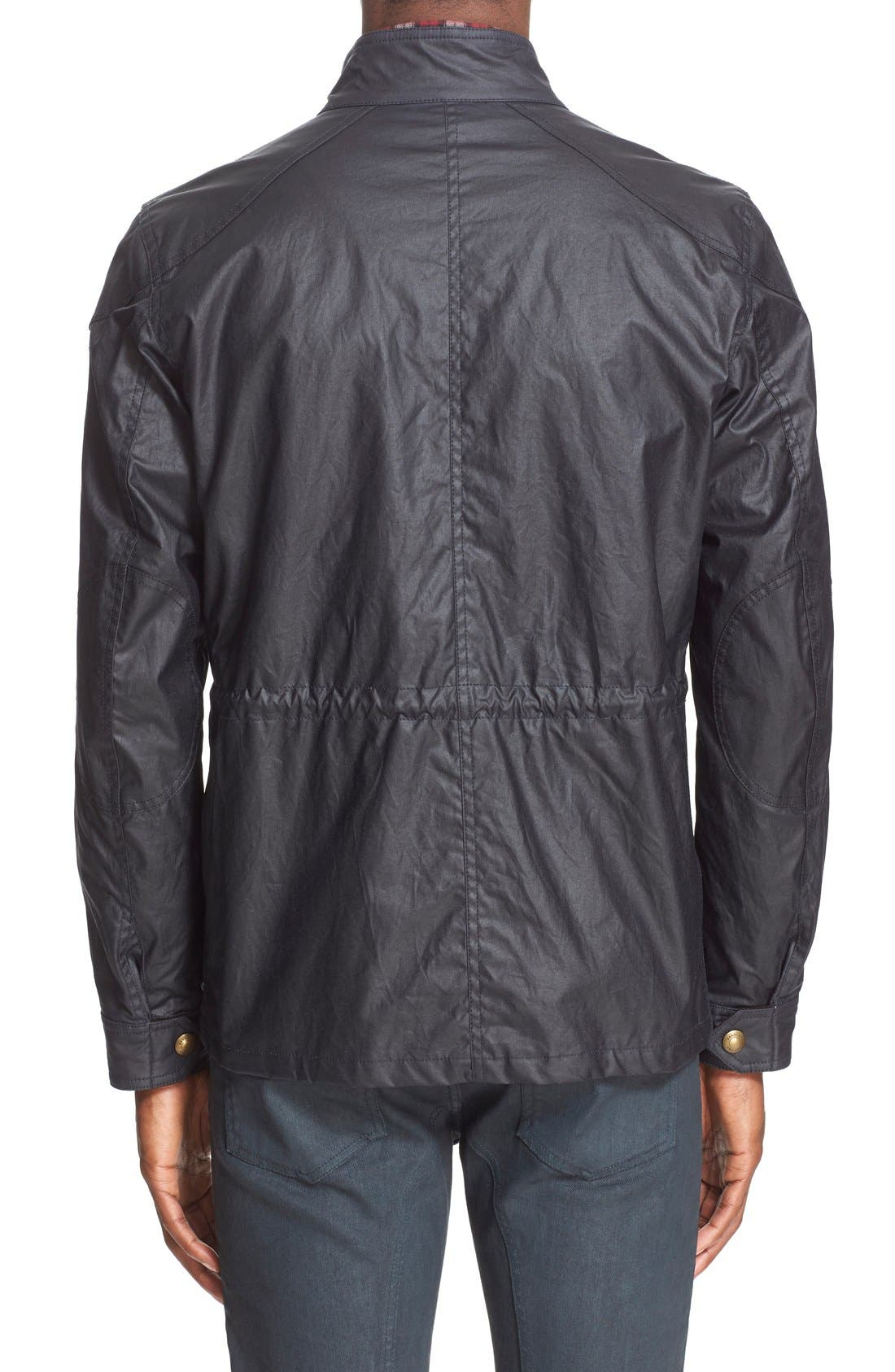 'Trialmaster 2015' Waxed Cotton Jacket,                             Alternate thumbnail 6, color,