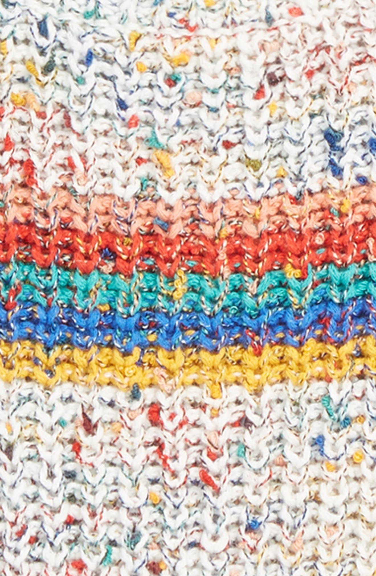 STELLA MCCARTNEY KIDS,                             Stella McCartney Rainbow Sweater,                             Alternate thumbnail 2, color,                             MULTI