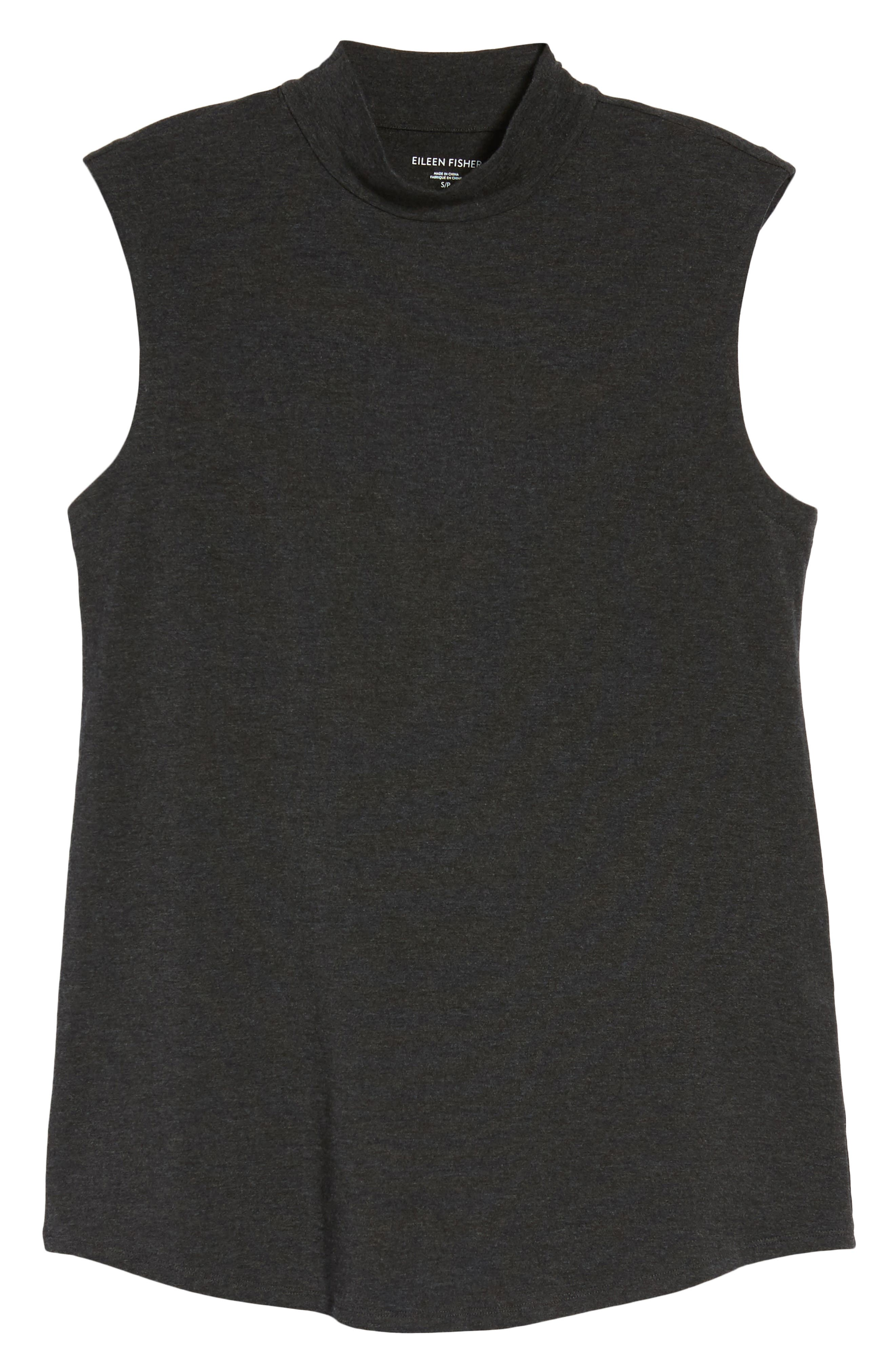 Lightweight Tencel<sup>®</sup> Lyocell Stretch Jersey Top,                             Alternate thumbnail 6, color,                             021