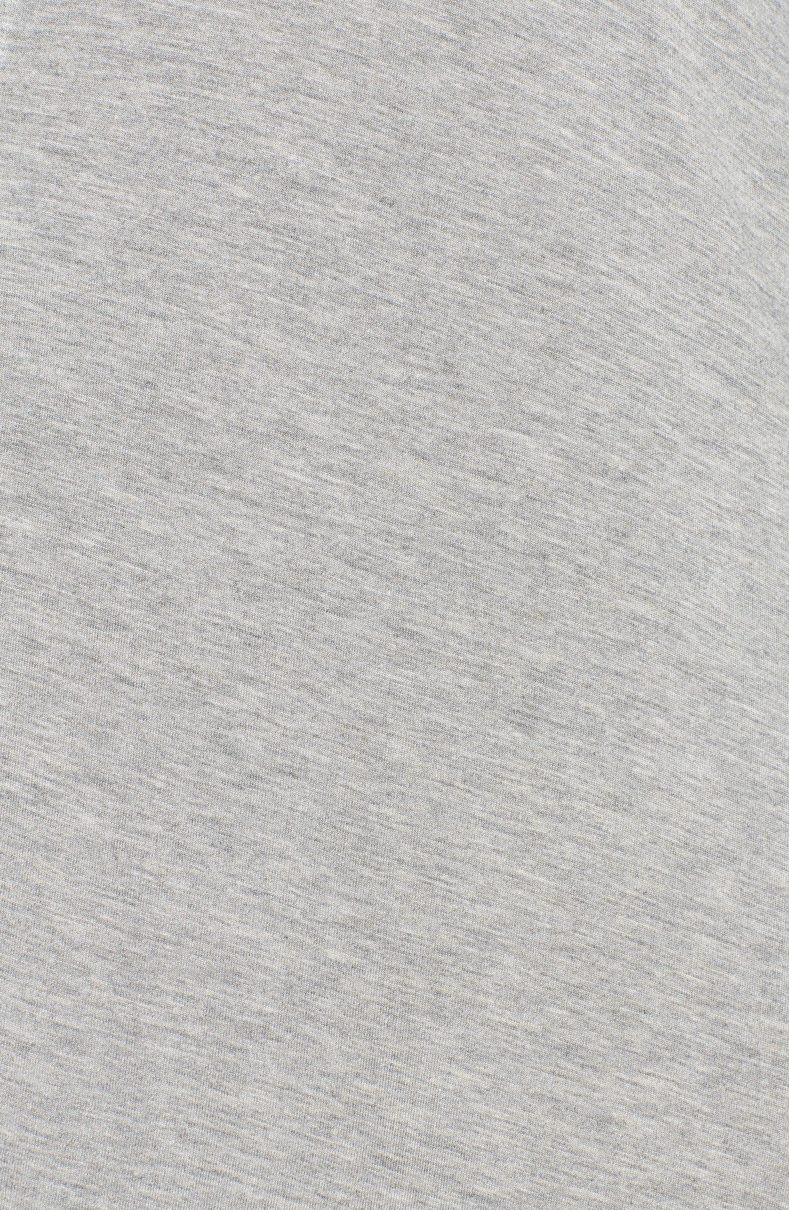 LAUREN RALPH LAUREN,                             Sleep Shirt,                             Alternate thumbnail 5, color,                             GREY