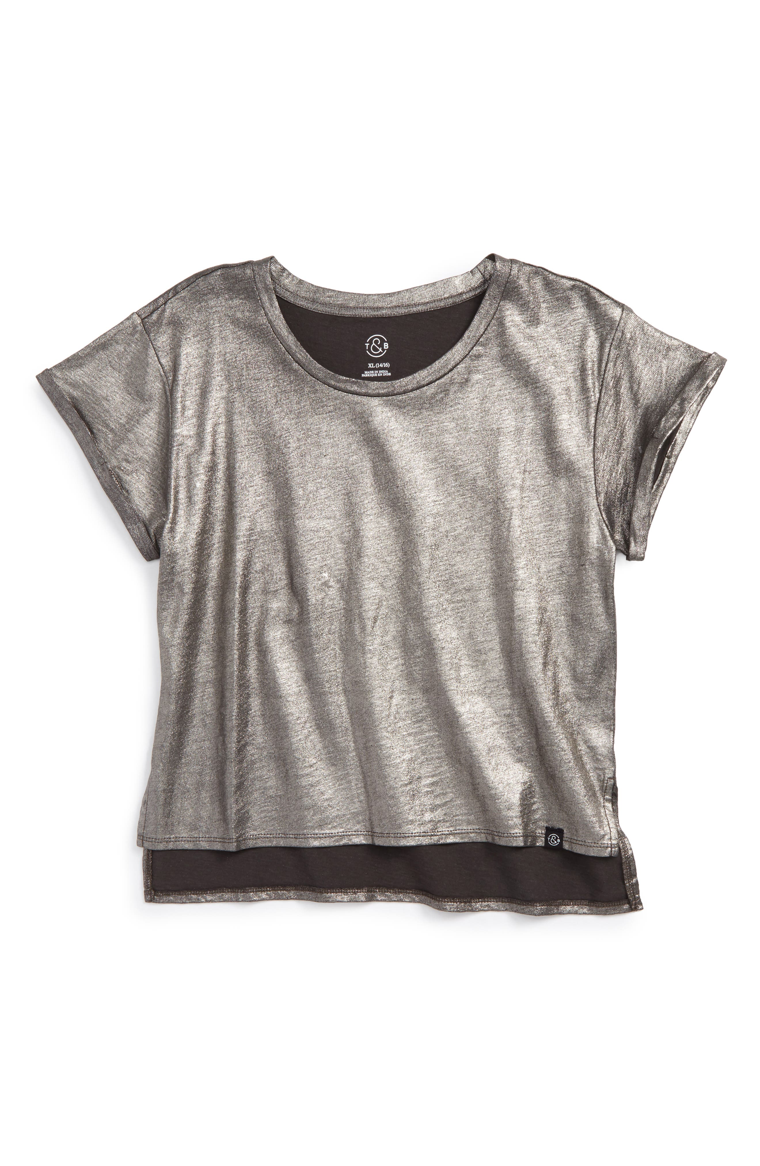 Sparkle Tee,                         Main,                         color, 001