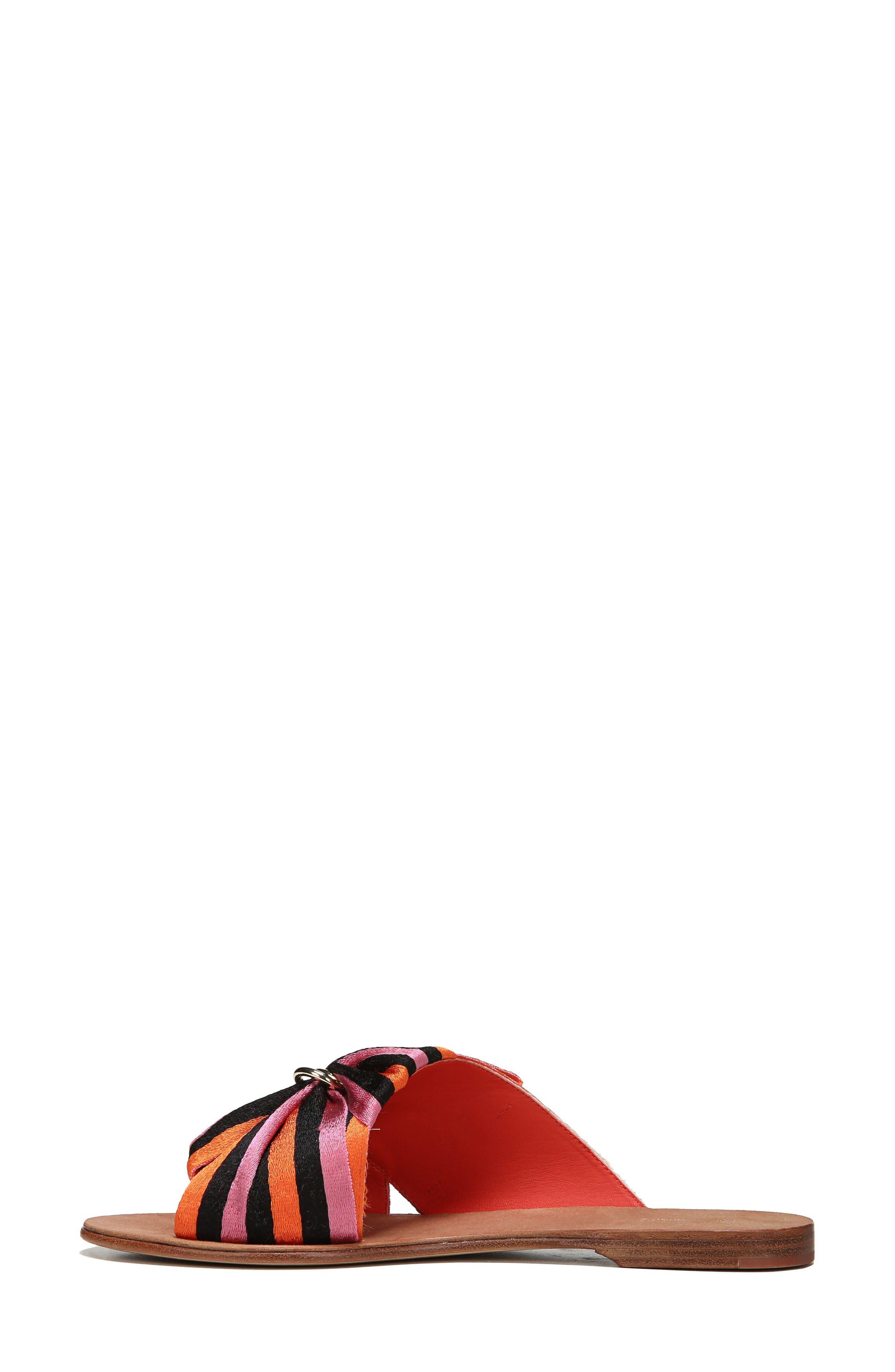 Bella Asymmetrical Slide Sandal,                             Alternate thumbnail 6, color,