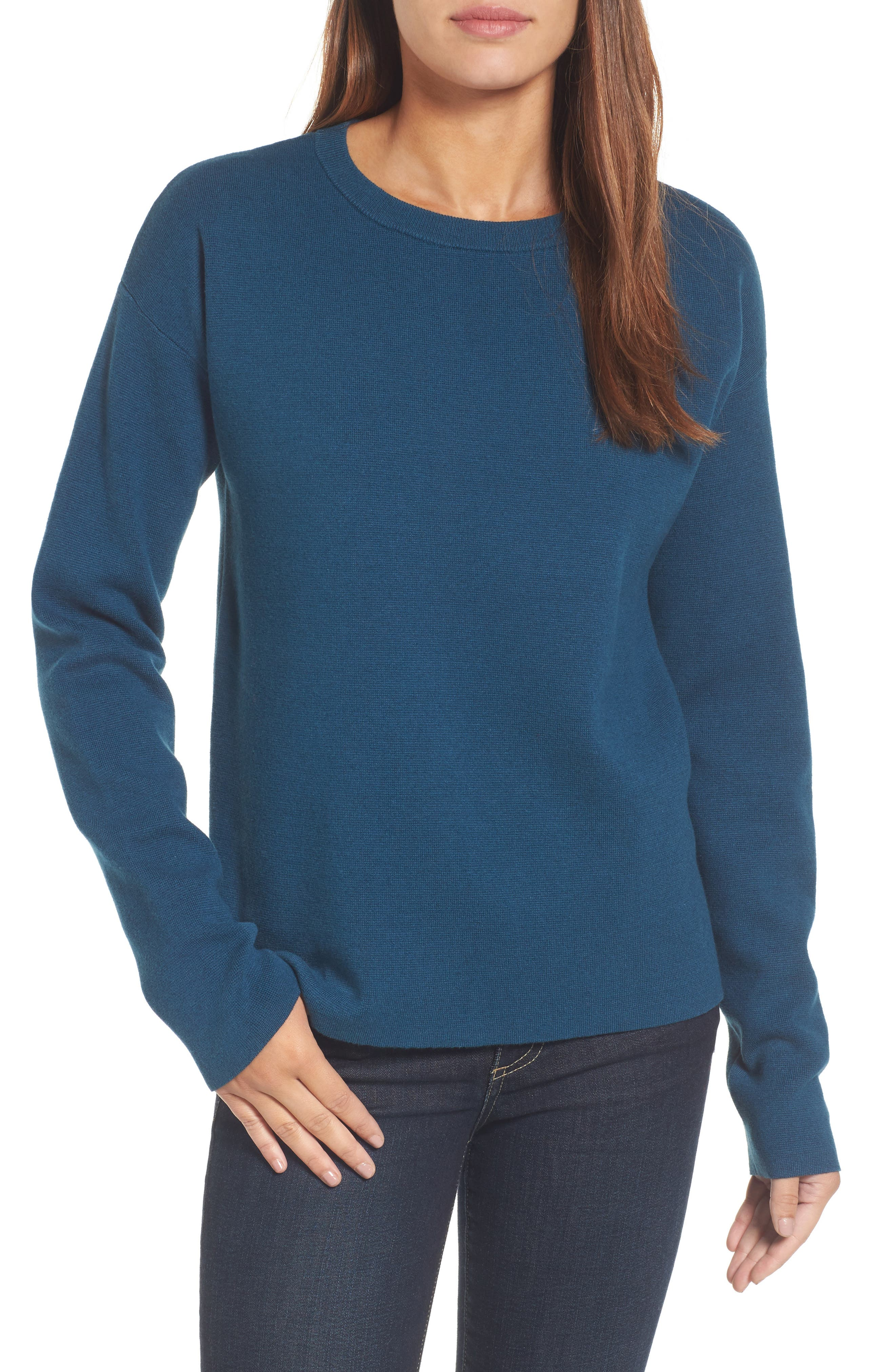 Tie Back Sweater,                             Main thumbnail 3, color,