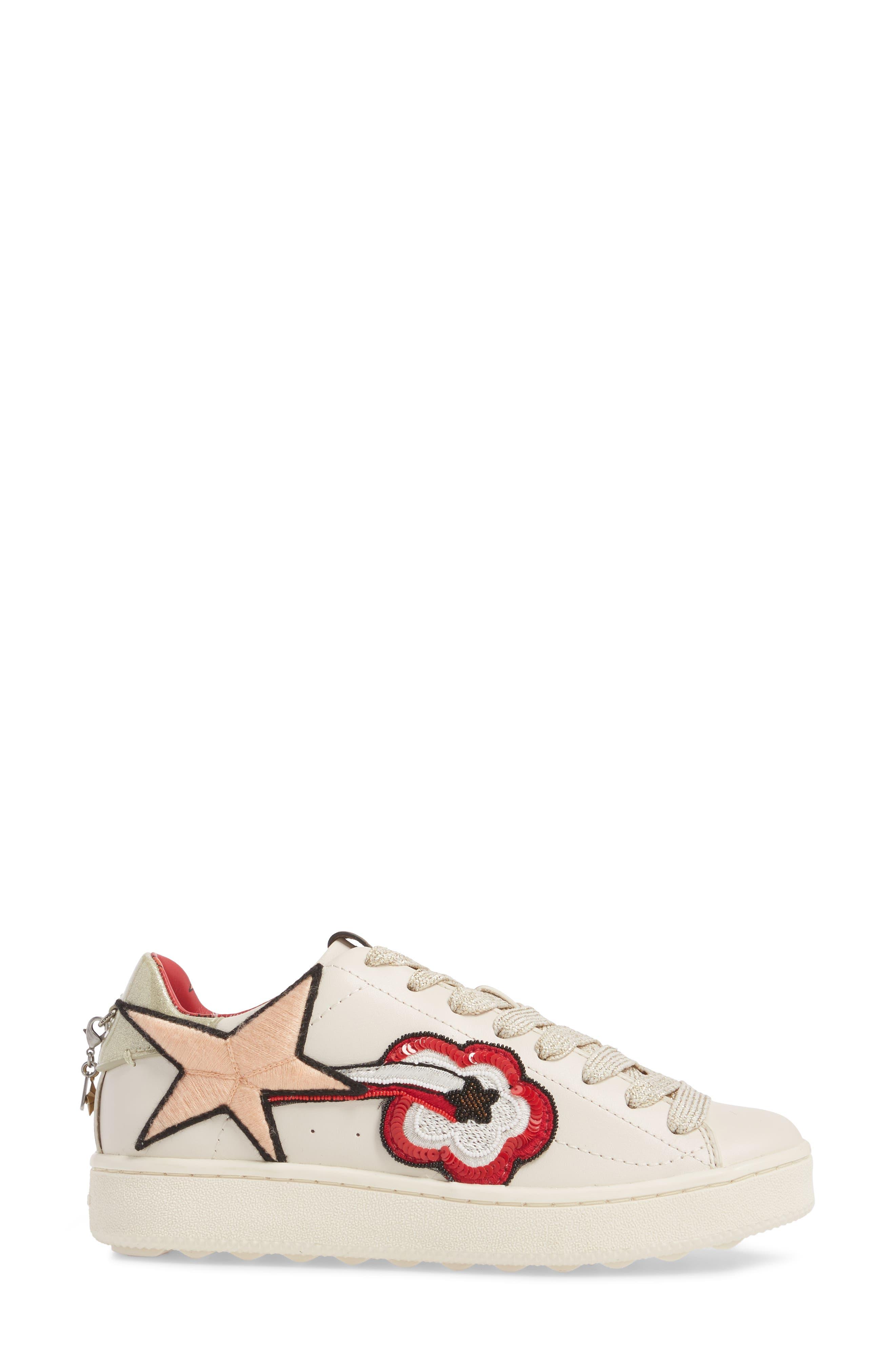 Shooting Star Sneaker,                             Alternate thumbnail 3, color,                             115