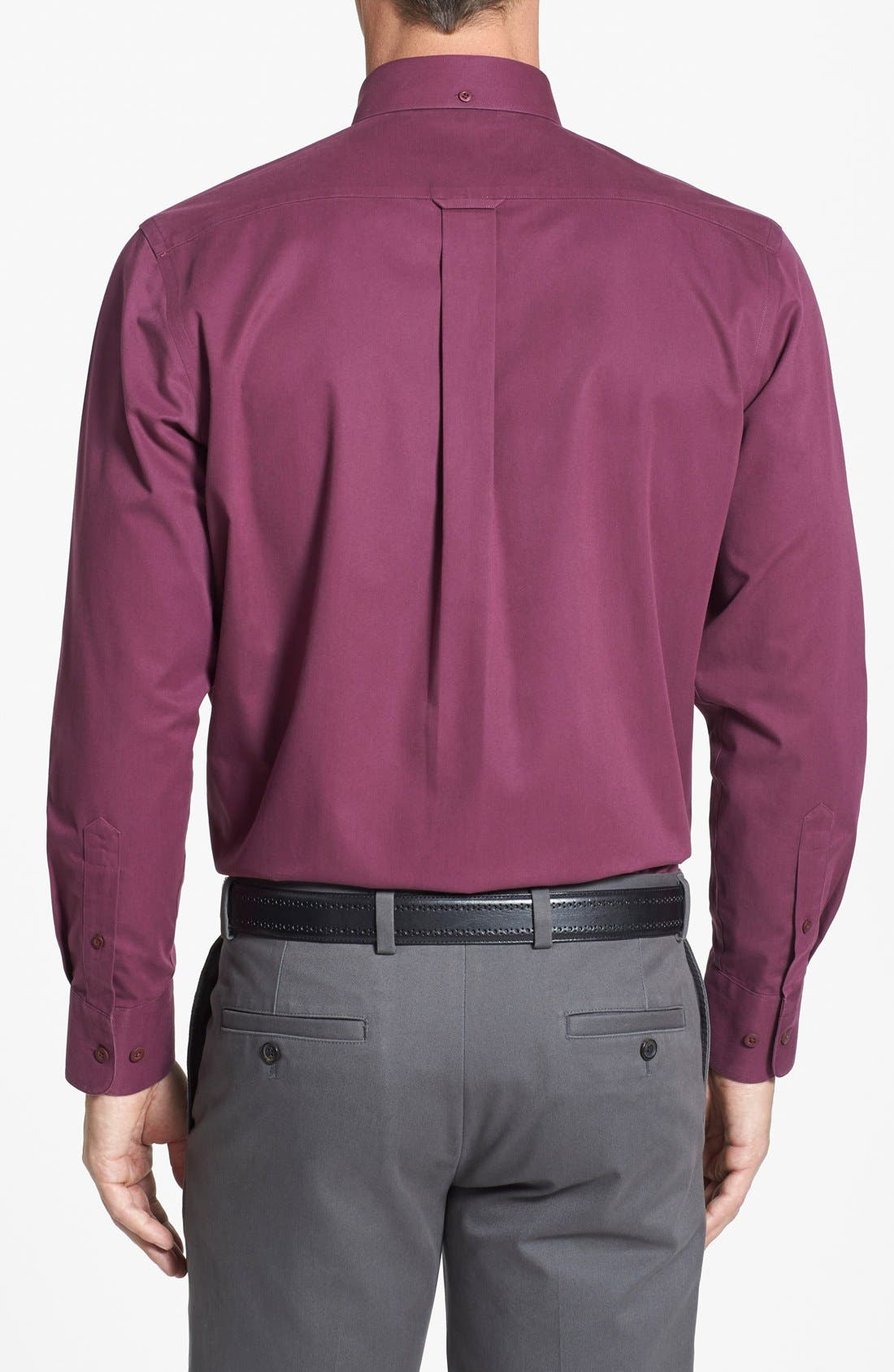 Smartcare<sup>™</sup> Traditional Fit Twill Boat Shirt,                             Alternate thumbnail 99, color,