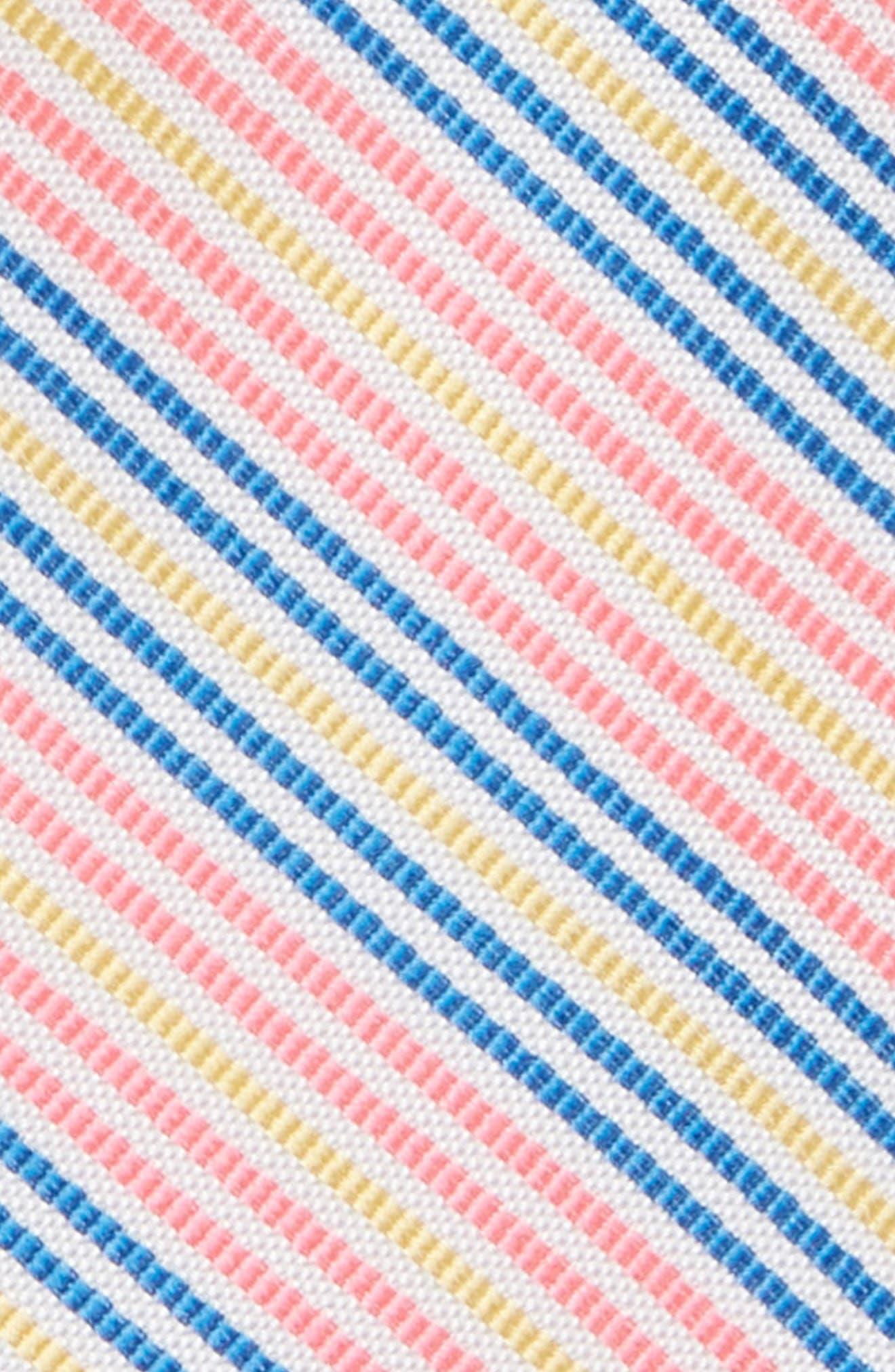 Bengal Stripe Silk Zip Tie,                             Alternate thumbnail 2, color,