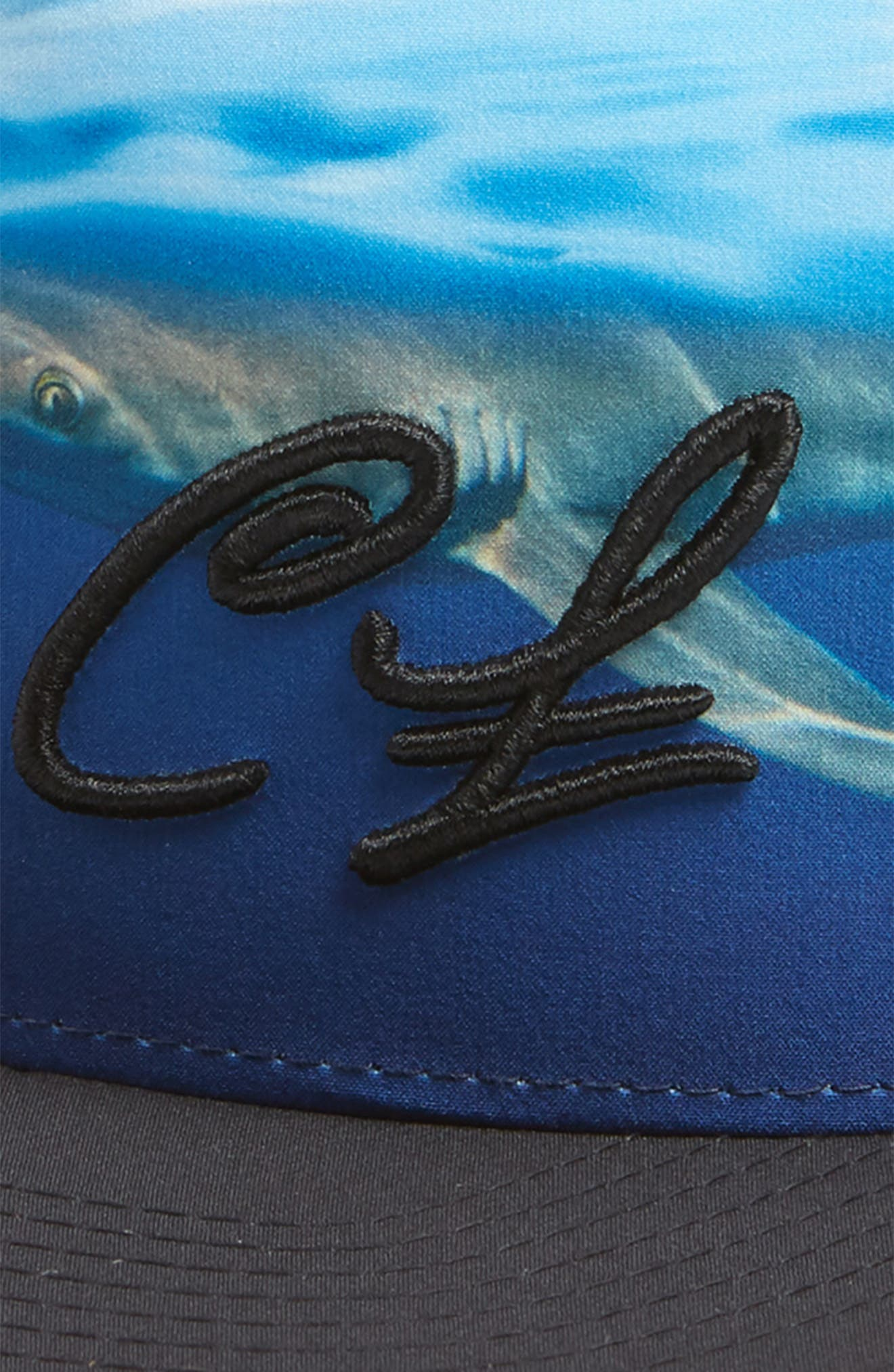 Clark Little Shark Trucker Hat,                             Alternate thumbnail 3, color,                             010