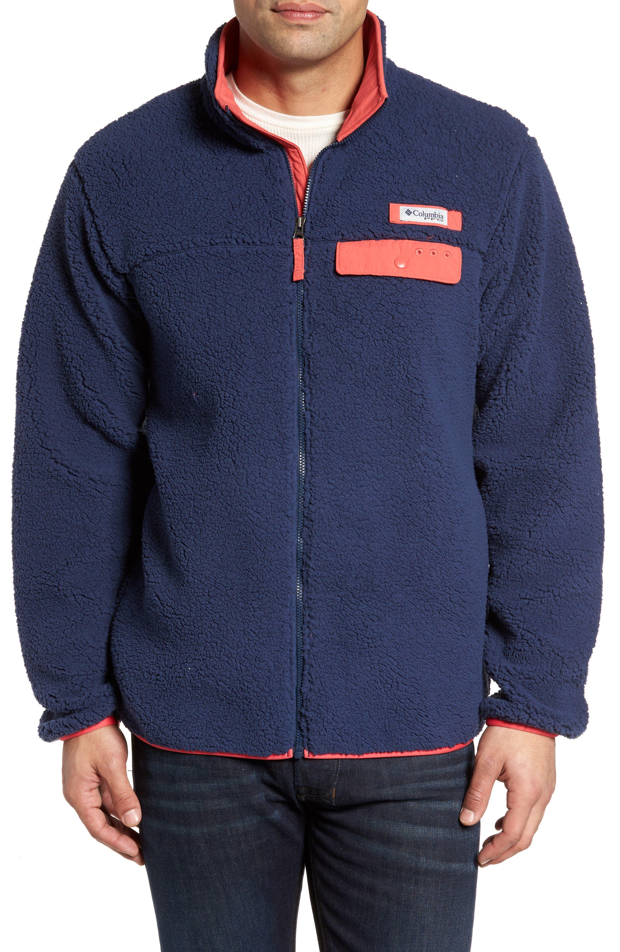 Harborside Fleece Jacket,                             Main thumbnail 4, color,