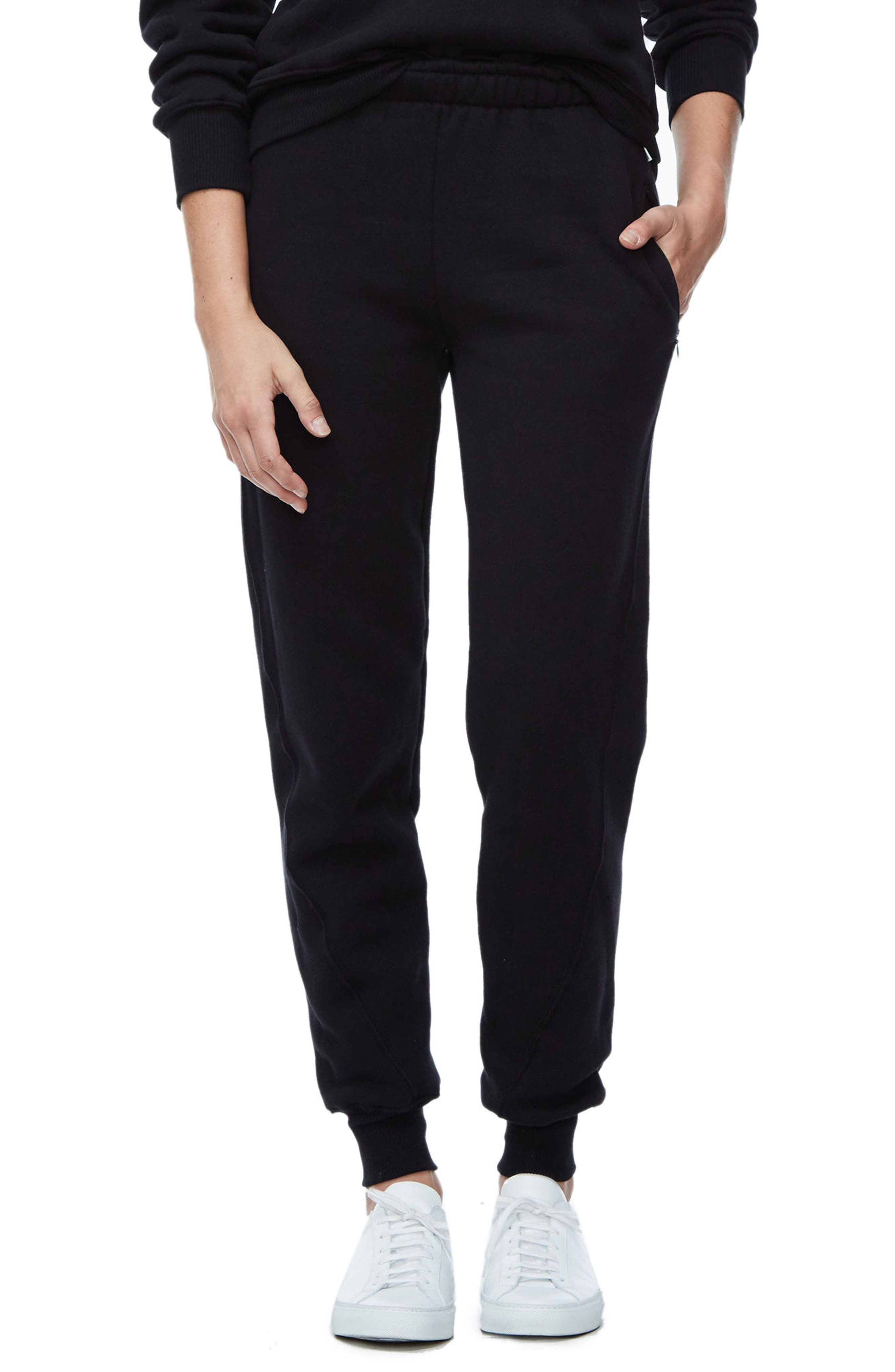 Good Sweats The Twisted Seam Pants,                             Alternate thumbnail 2, color,                             002