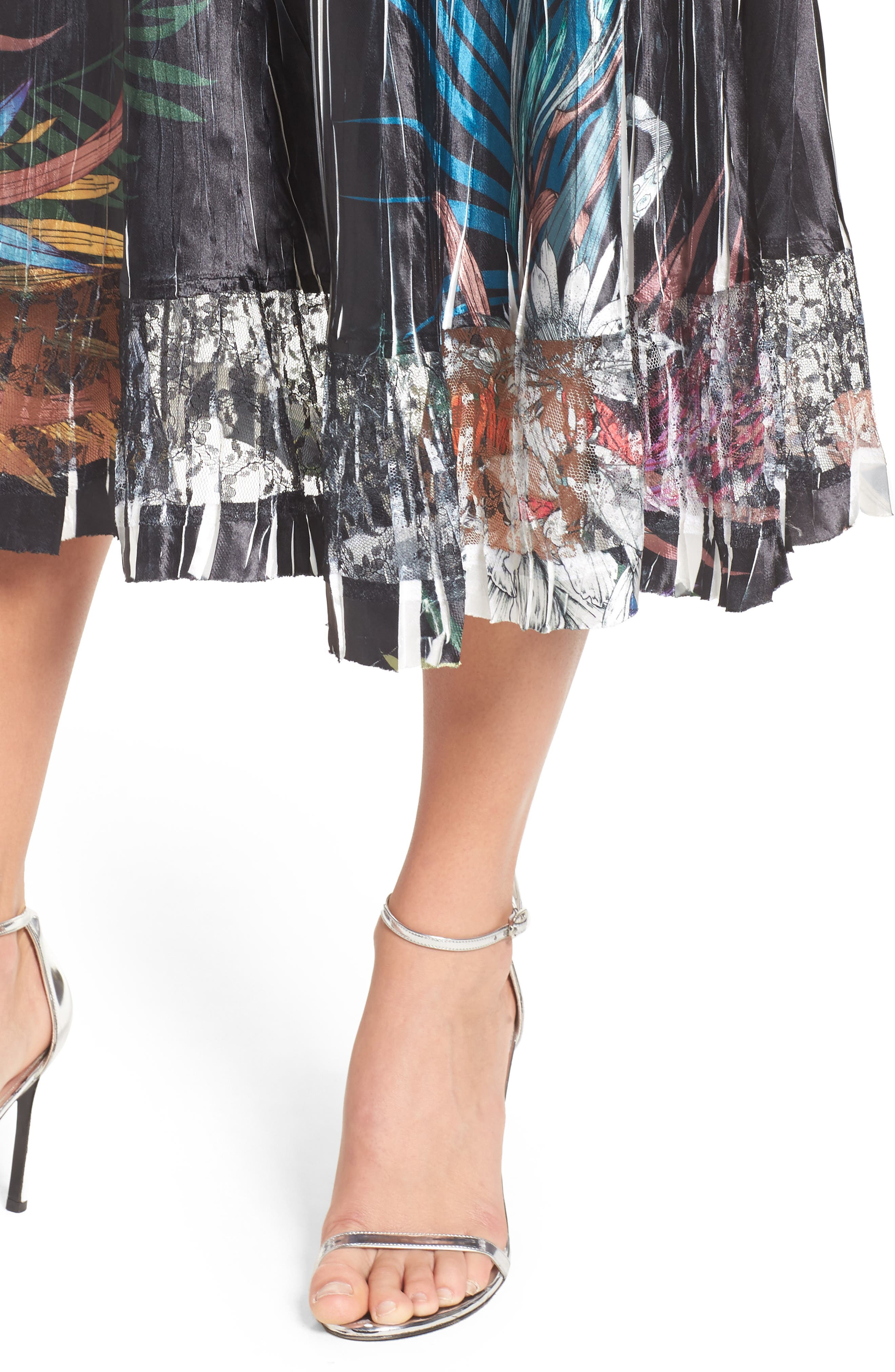Print Sash Maxi Dress,                             Alternate thumbnail 4, color,                             039