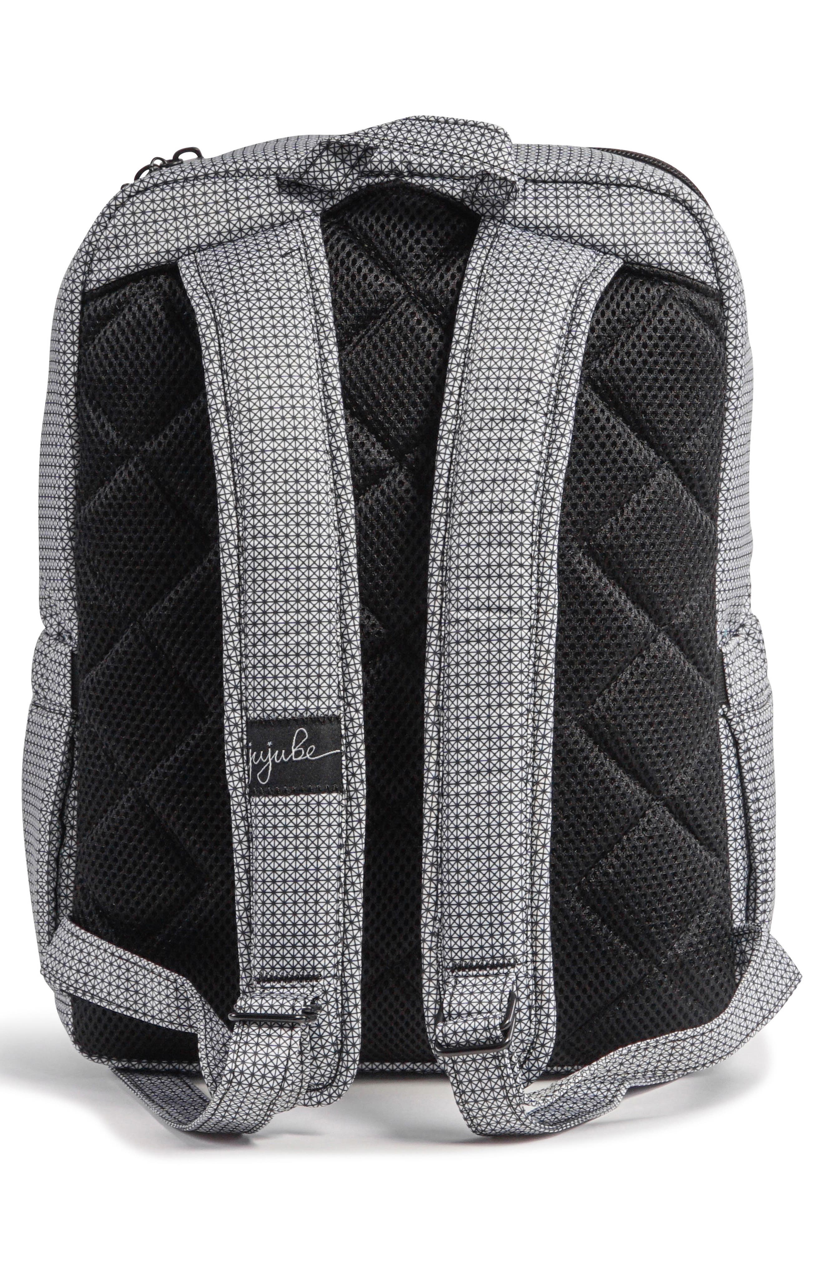 'Mini Be - Onyx Collection' Backpack,                             Alternate thumbnail 3, color,                             BLACK MATRIX