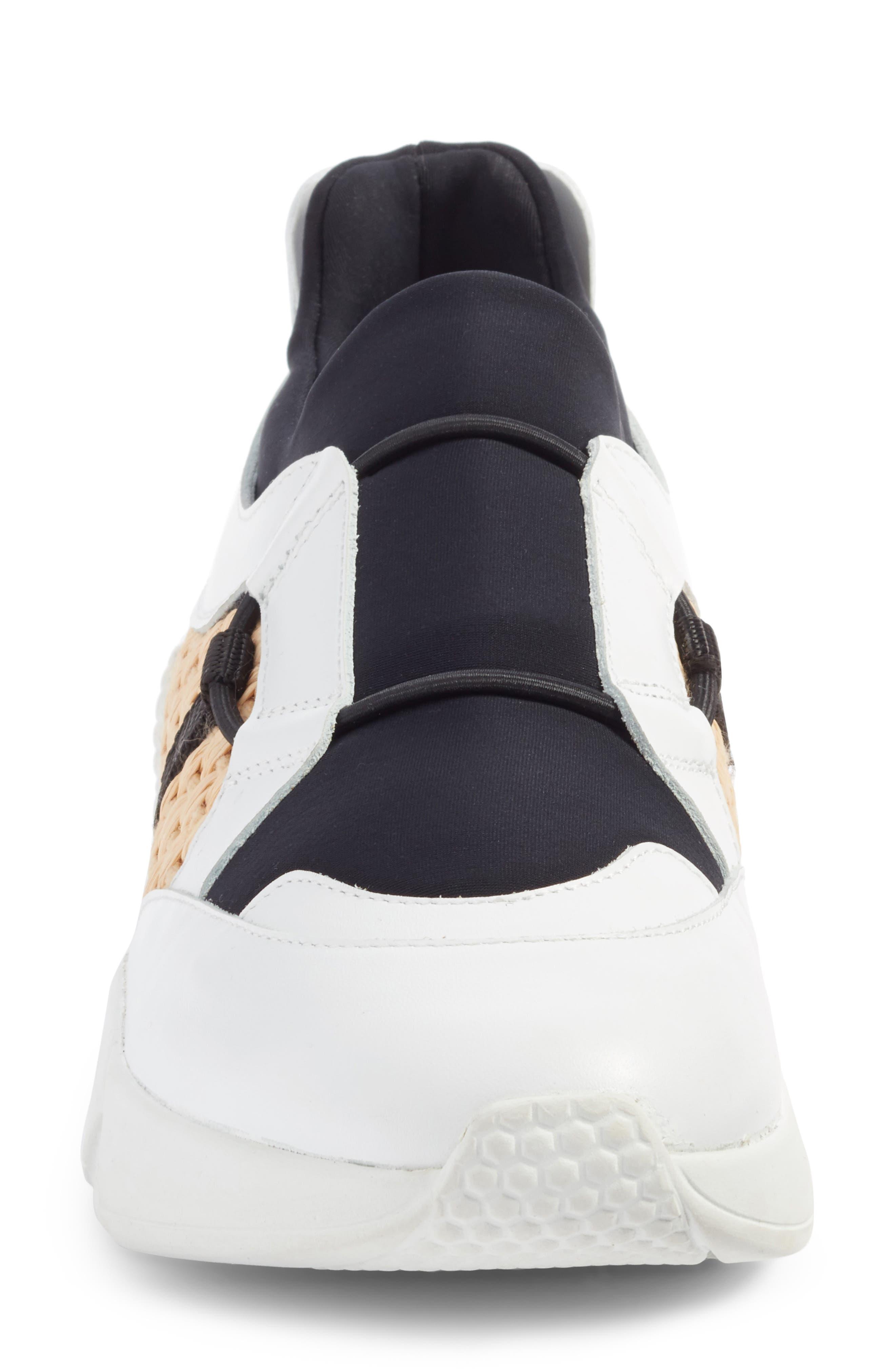 Salvy Woven Sneaker,                             Alternate thumbnail 4, color,                             100