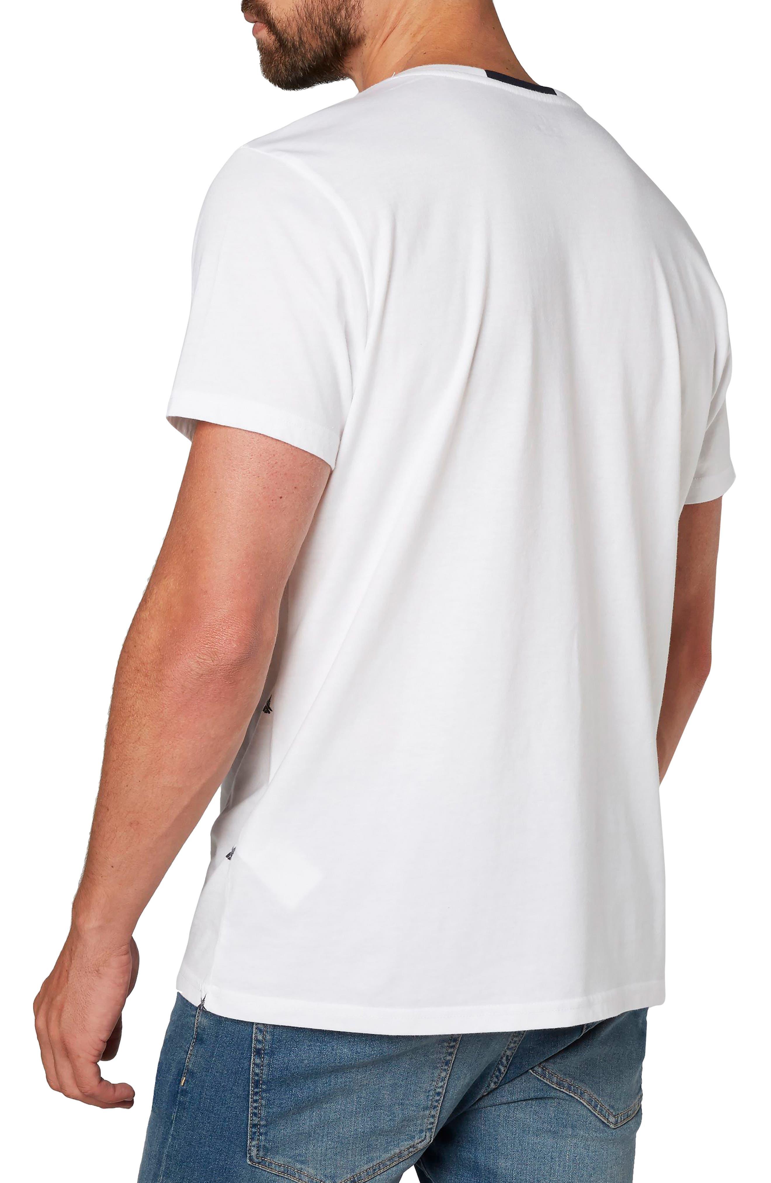 Fjord Cotton Blend T-Shirt,                             Alternate thumbnail 2, color,                             100