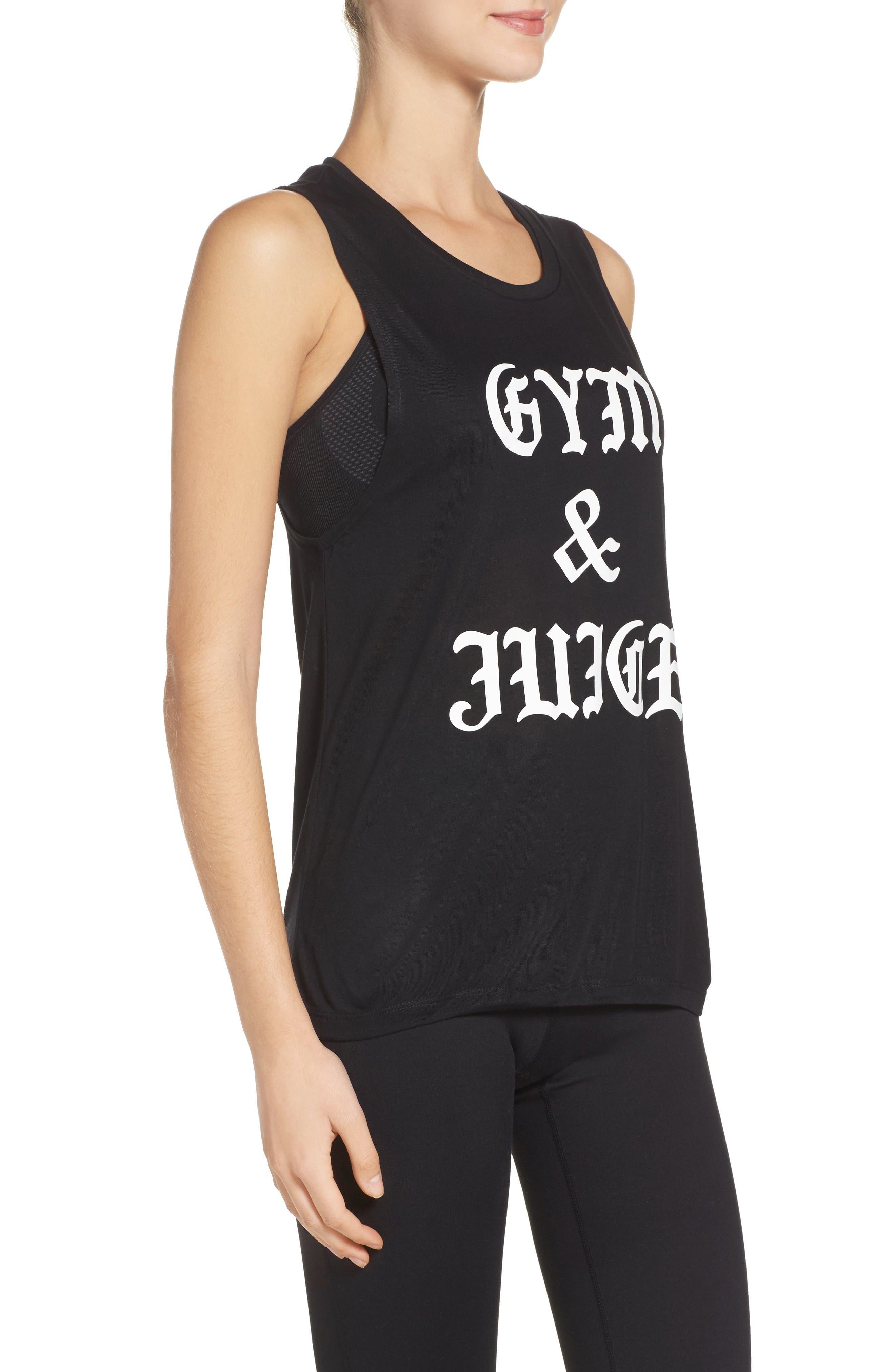Gym & Juice Tank,                             Alternate thumbnail 3, color,                             001