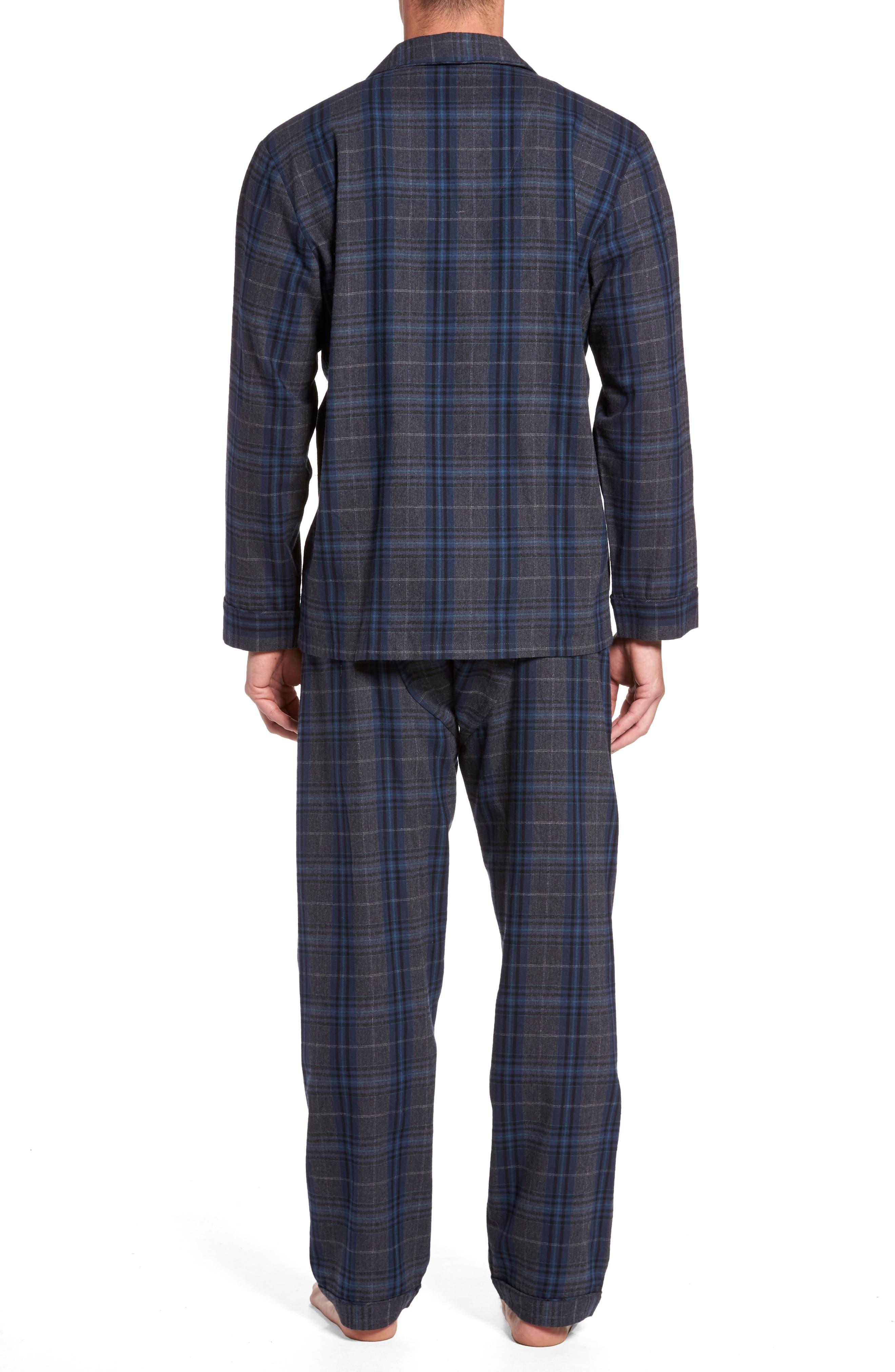 Bryson Plaid Pajama Set,                             Alternate thumbnail 5, color,