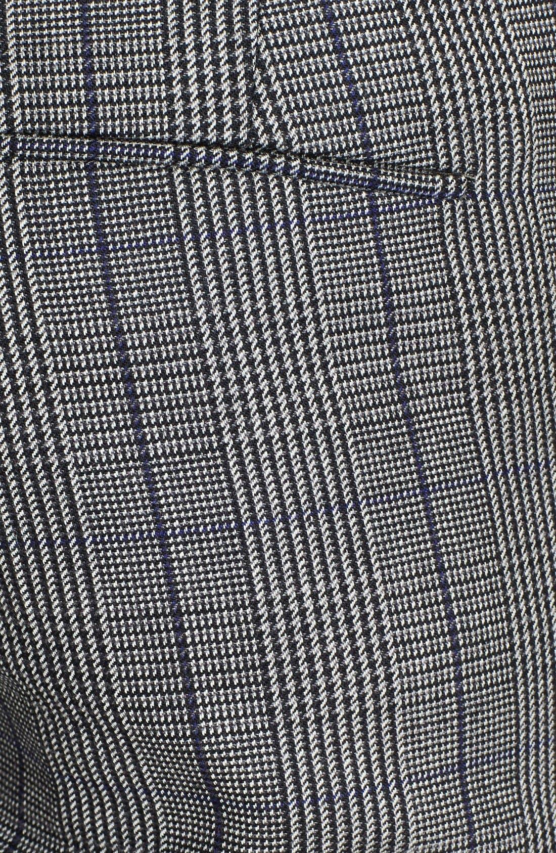 3.1 PHILLIP LIM,                             Glen Plaid Pencil Pants,                             Alternate thumbnail 4, color,                             020