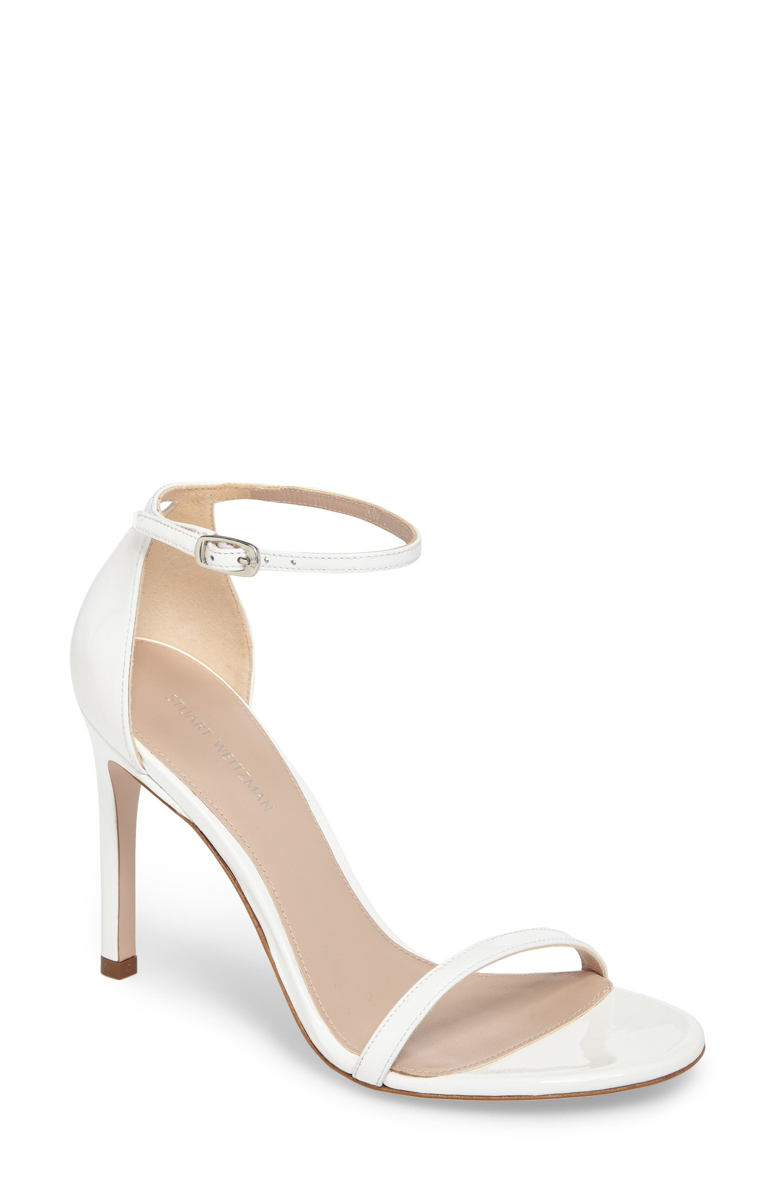 Nudistsong Ankle Strap Sandal,                             Main thumbnail 4, color,