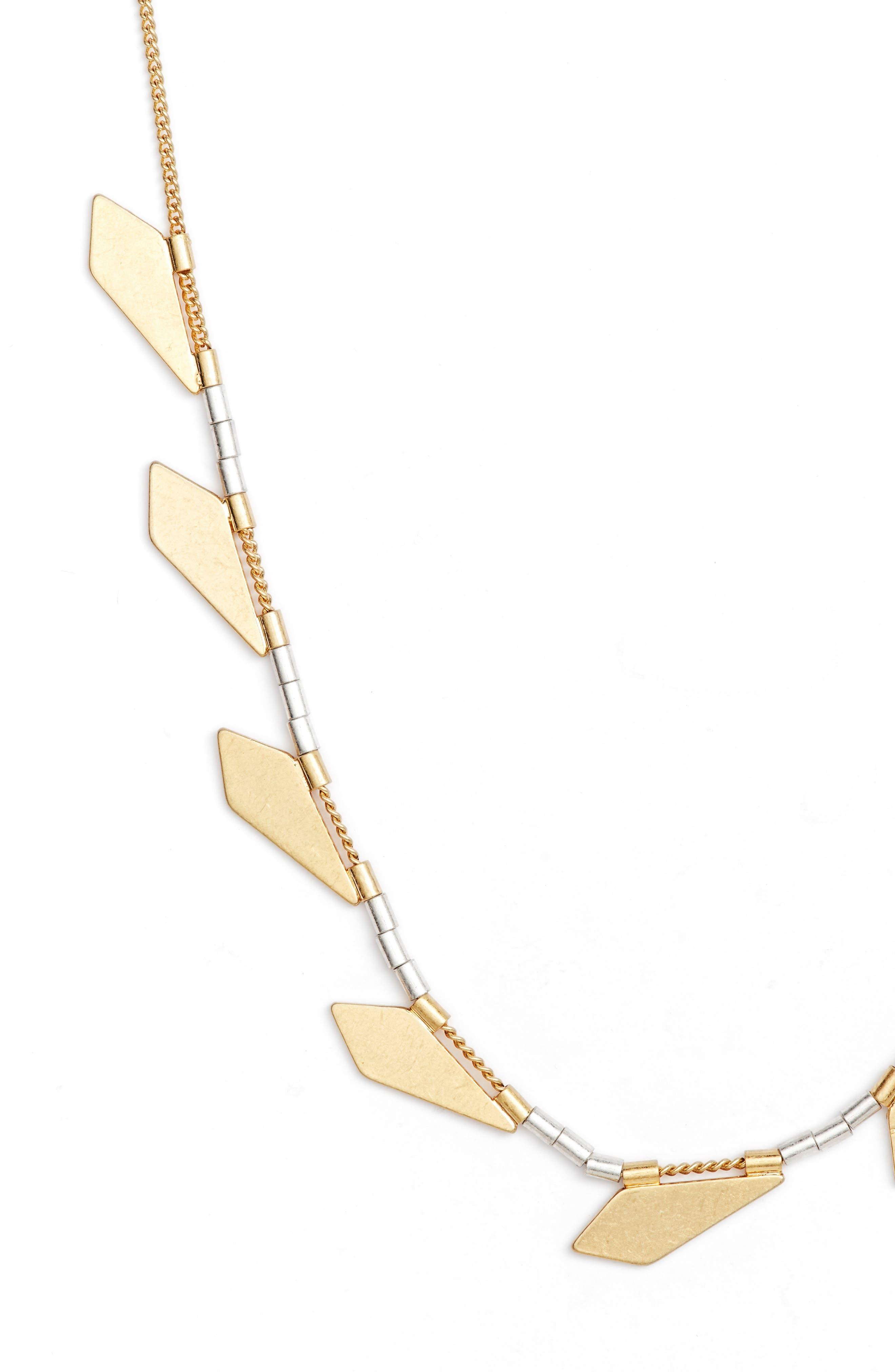 Shapemix Chain Necklace,                             Alternate thumbnail 2, color,                             710