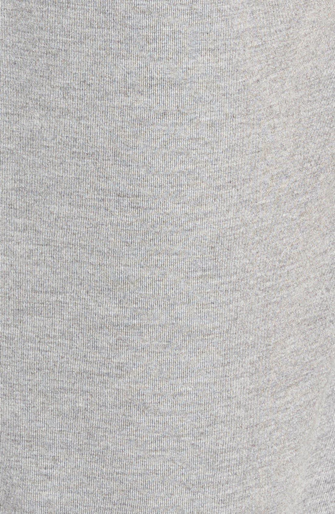Short Sleeve V-Neck Tee,                             Alternate thumbnail 7, color,