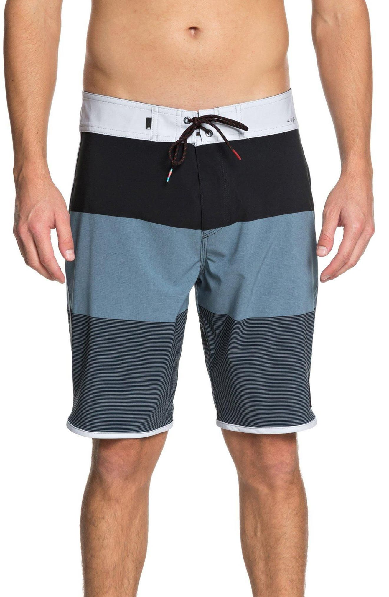 Highline Tijuana Scallop Board Shorts,                             Main thumbnail 1, color,                             440