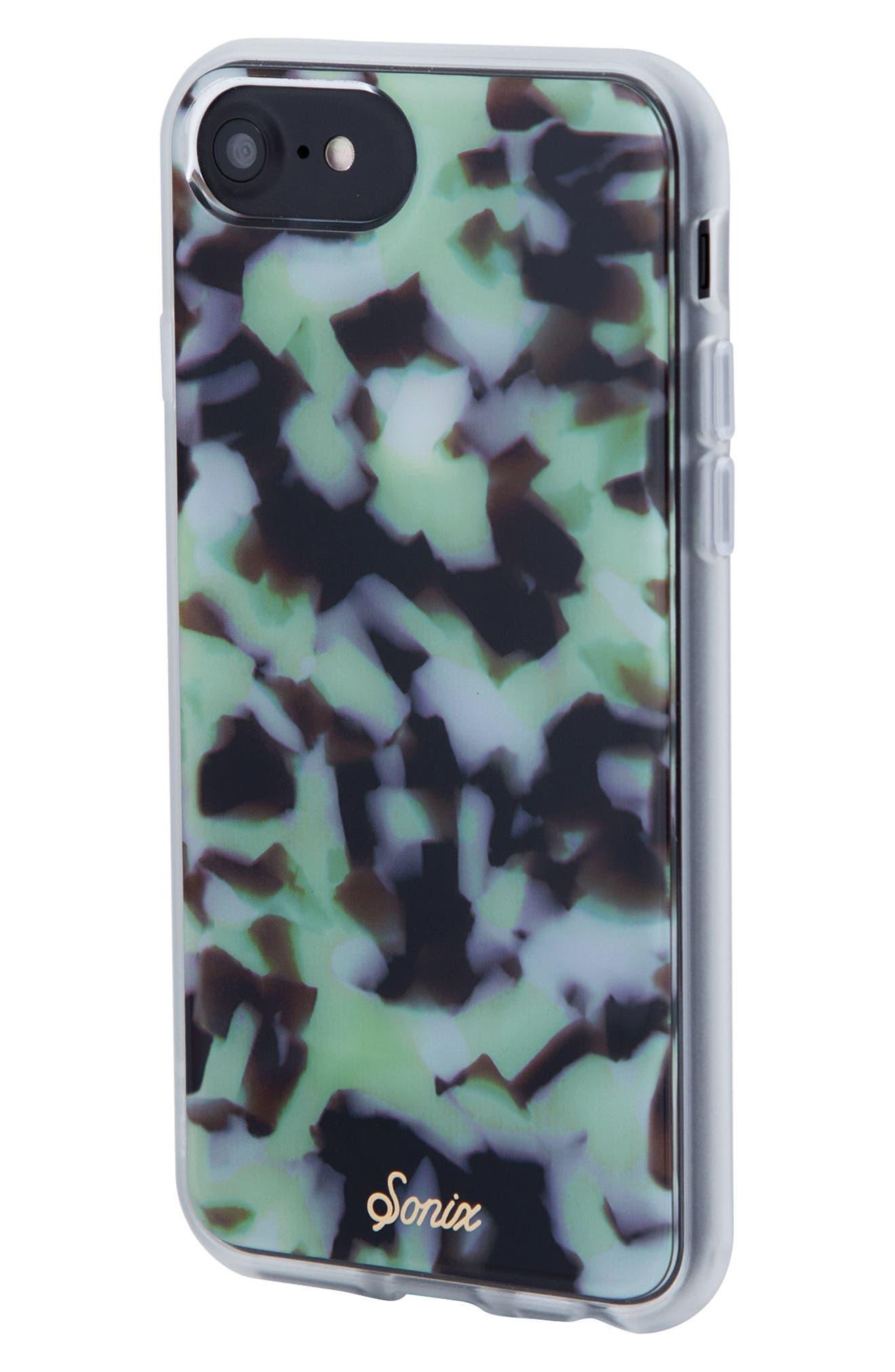Terrazzo Mint iPhone 6/6s/7/8 & 6/6s/7/8 Plus Case,                             Alternate thumbnail 2, color,                             300