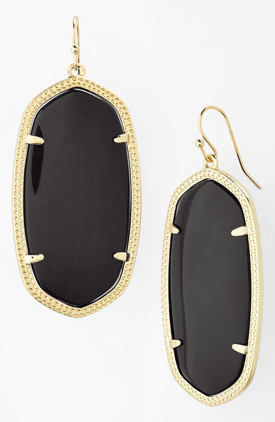 Danielle - Large Oval Statement Earrings,                             Main thumbnail 1, color,                             001