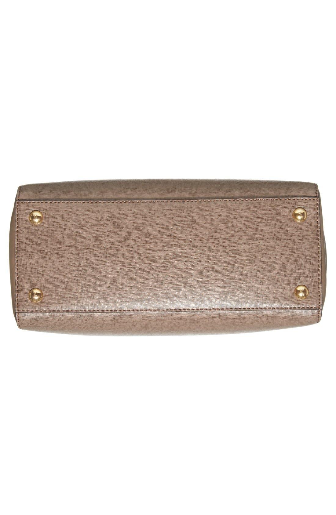 'Petite 2Jours Elite' Leather Shopper,                             Alternate thumbnail 113, color,