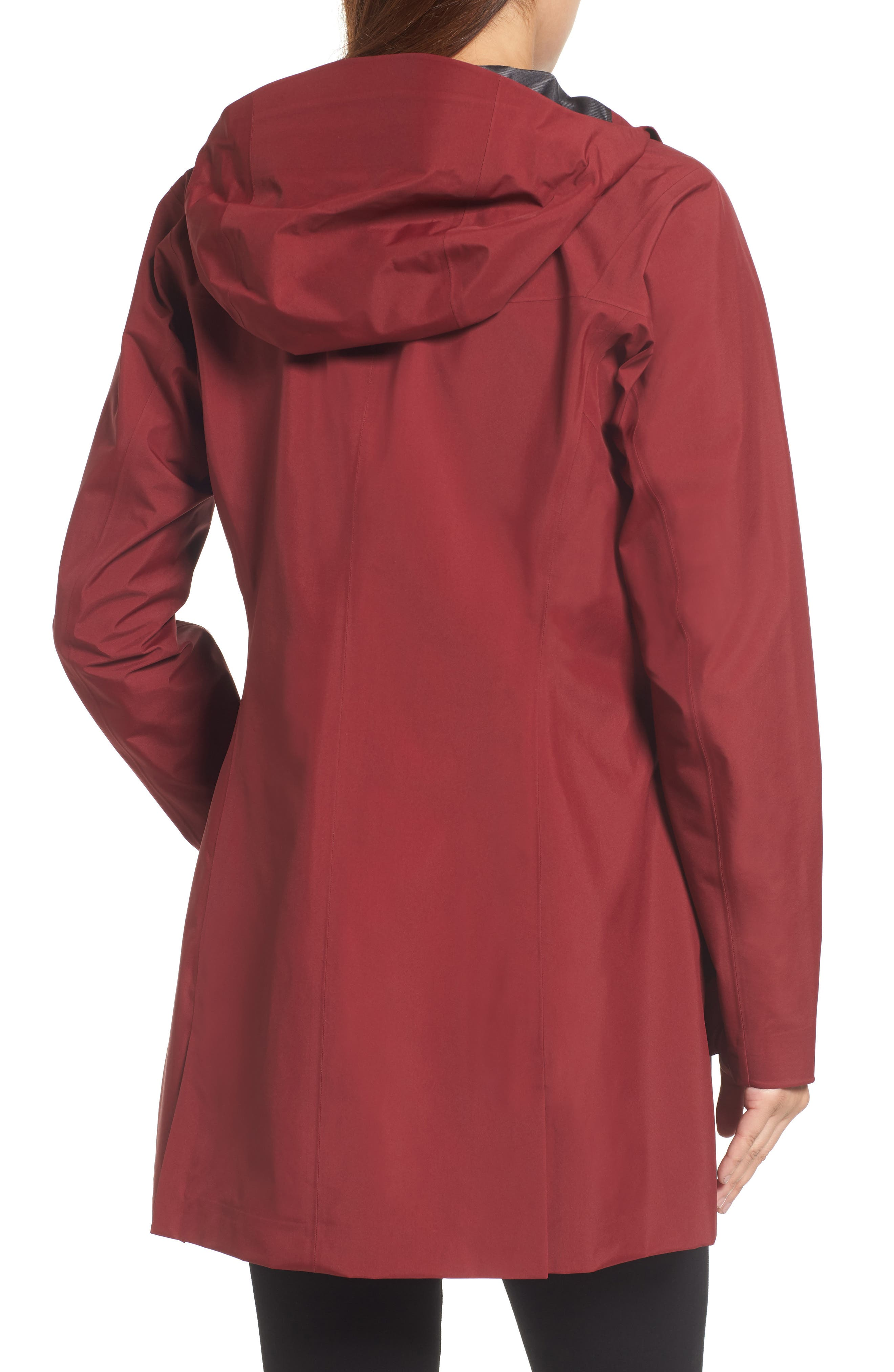 Codetta Waterproof Relaxed Fit Gore-Tex<sup>®</sup> 3L Rain Jacket,                             Alternate thumbnail 4, color,