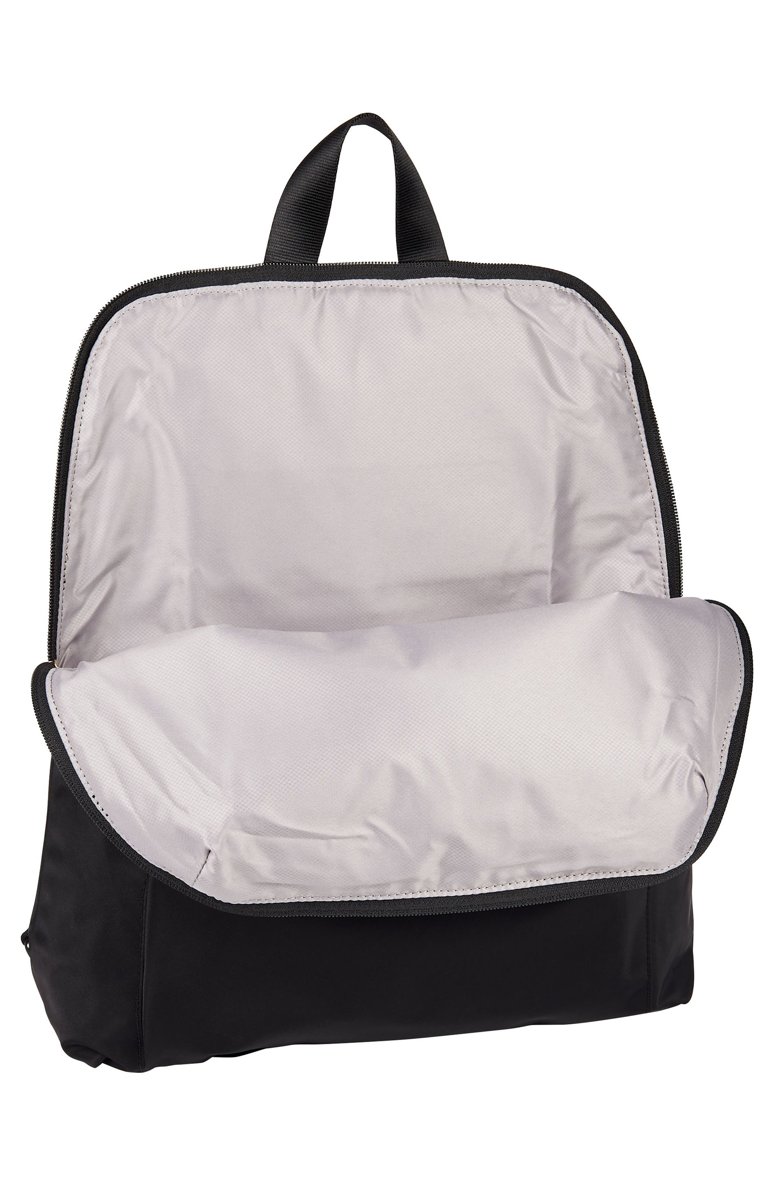 TUMI,                             Voyageur - Just in Case Nylon Travel Backpack,                             Alternate thumbnail 3, color,                             001