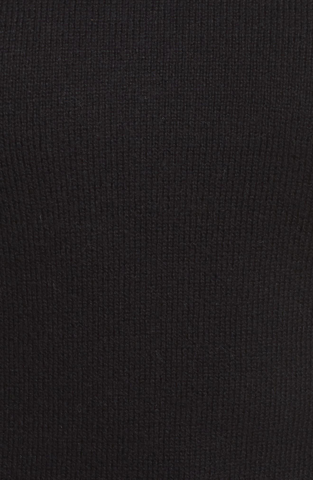 Braided Crewneck Sweater,                             Alternate thumbnail 5, color,                             011