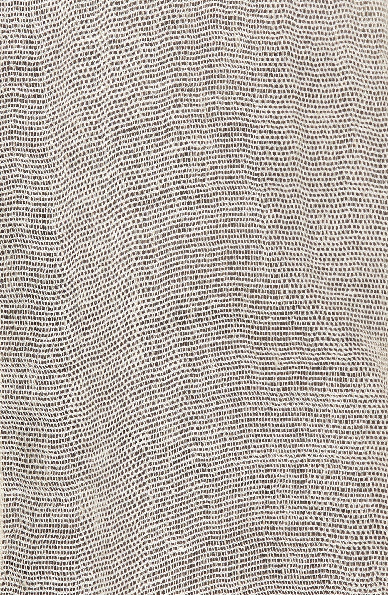Organic Linen Blend Duster,                             Alternate thumbnail 6, color,                             251