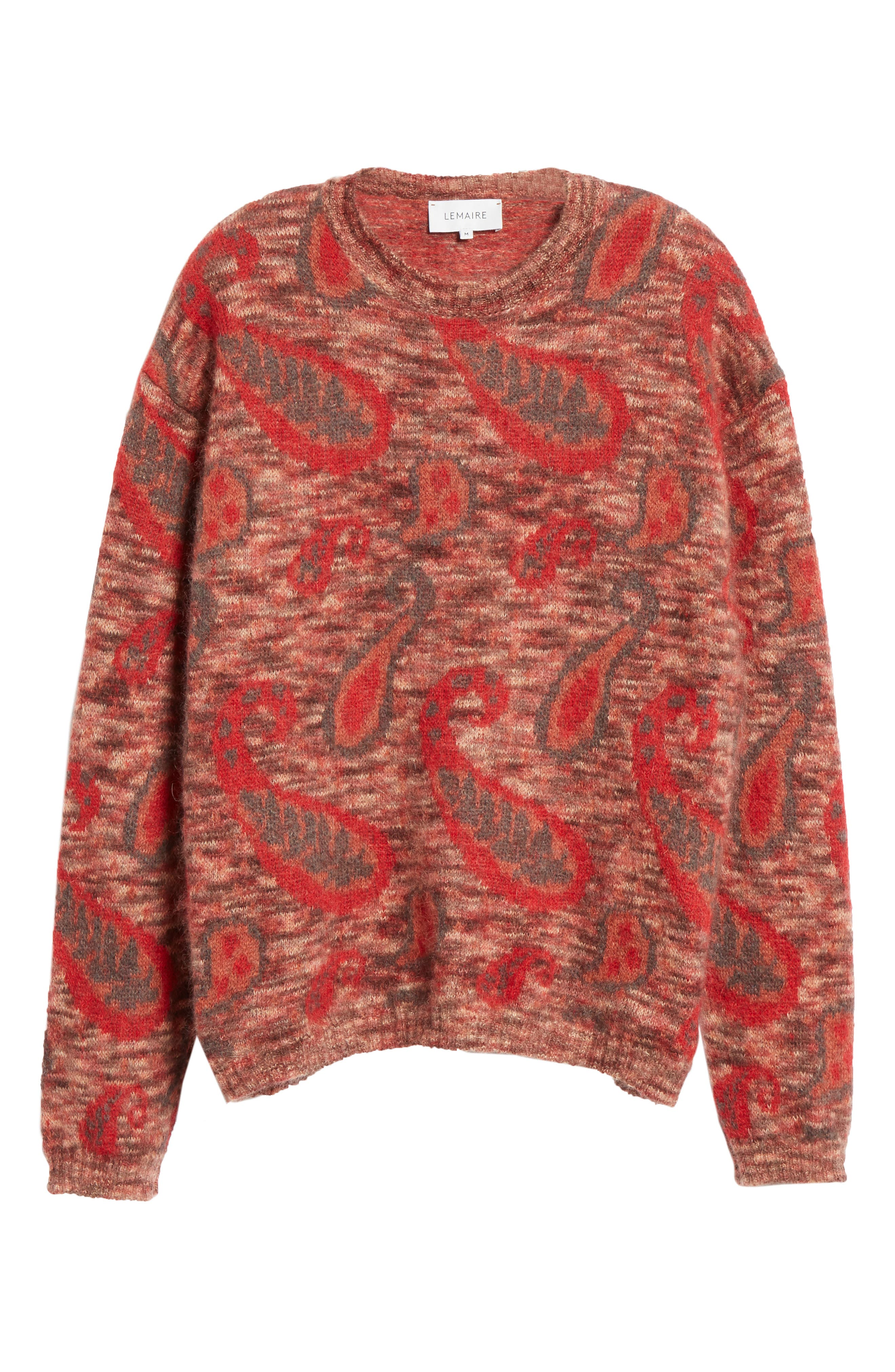 Mohair Blend Paisley Sweater,                             Alternate thumbnail 6, color,                             600
