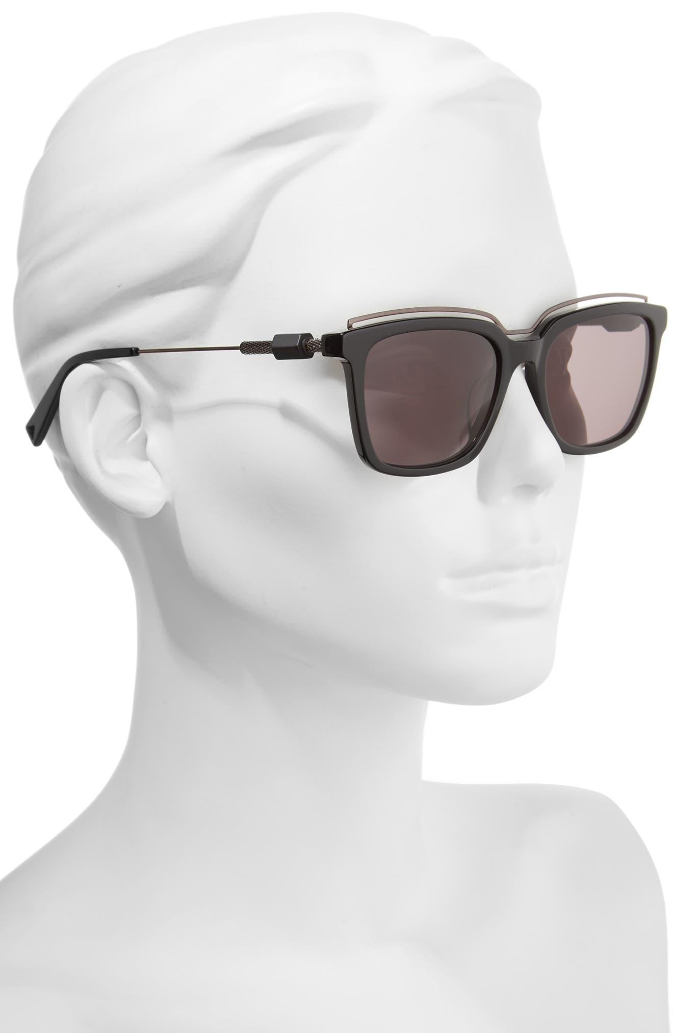 Opus 54mm Sunglasses,                             Alternate thumbnail 4, color,