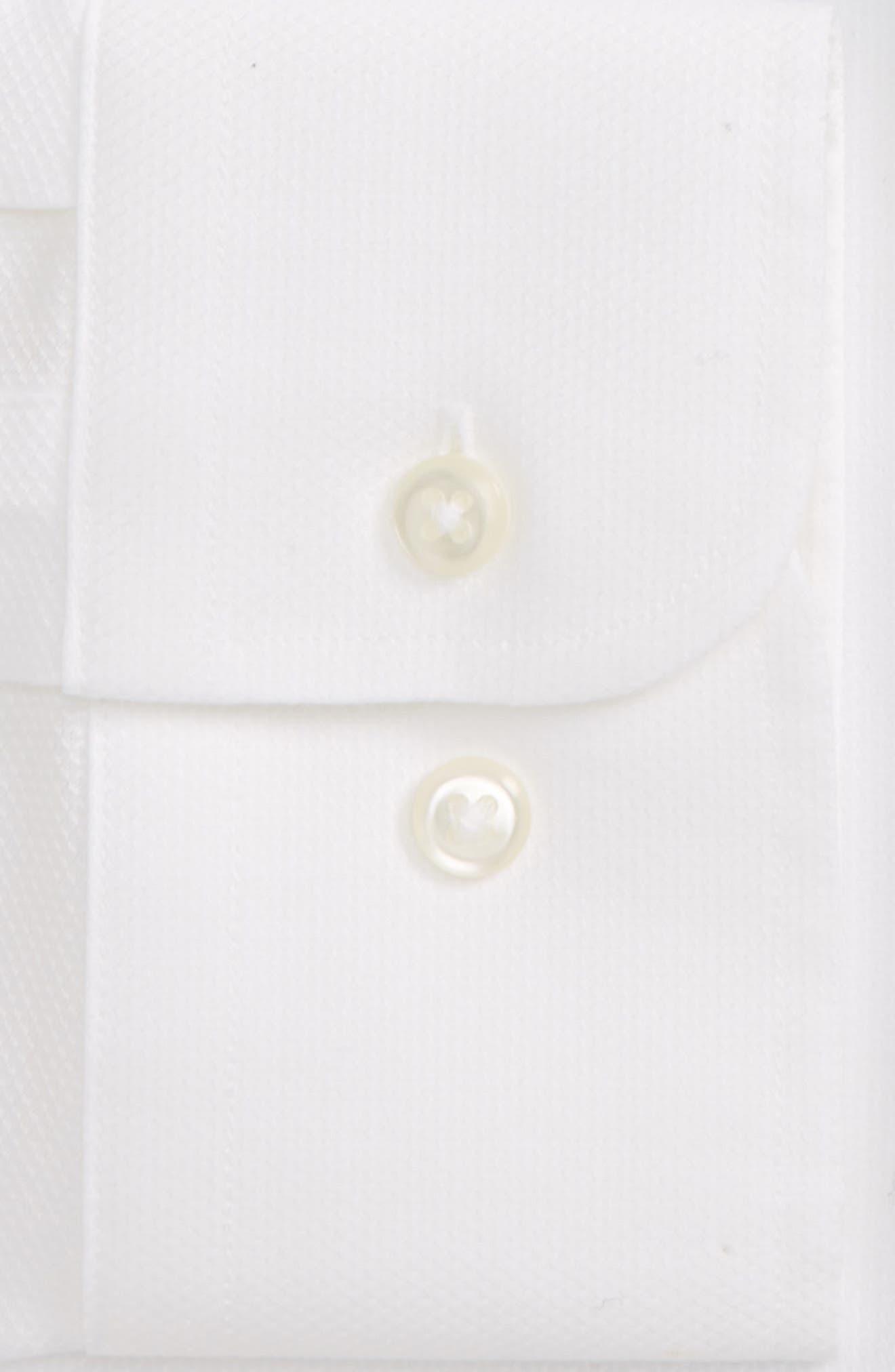 Smartcare<sup>™</sup> Trim Fit Solid Dress Shirt,                             Alternate thumbnail 3, color,