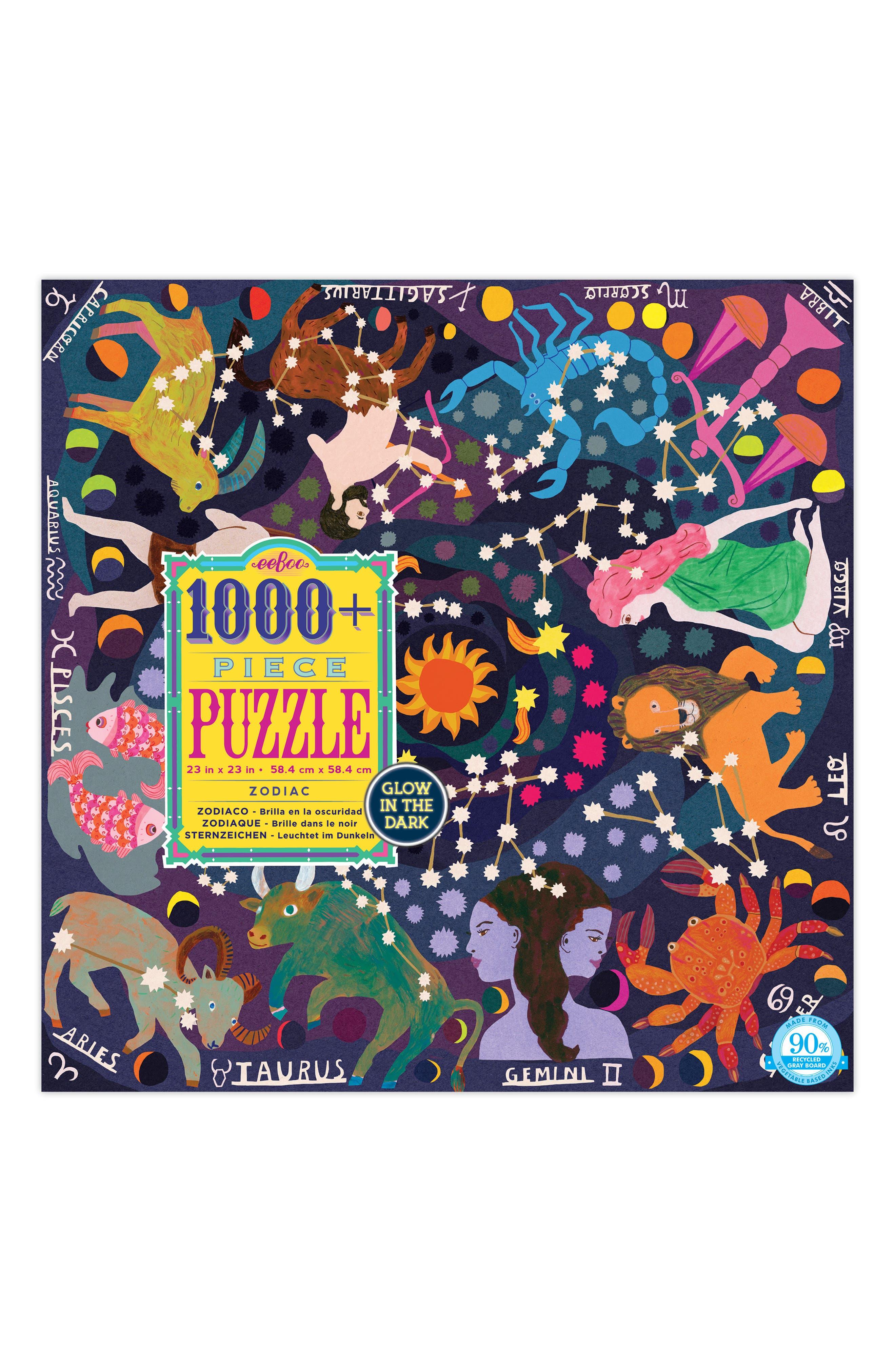 Zodiac 1000-Piece Puzzle,                         Main,                         color, 500