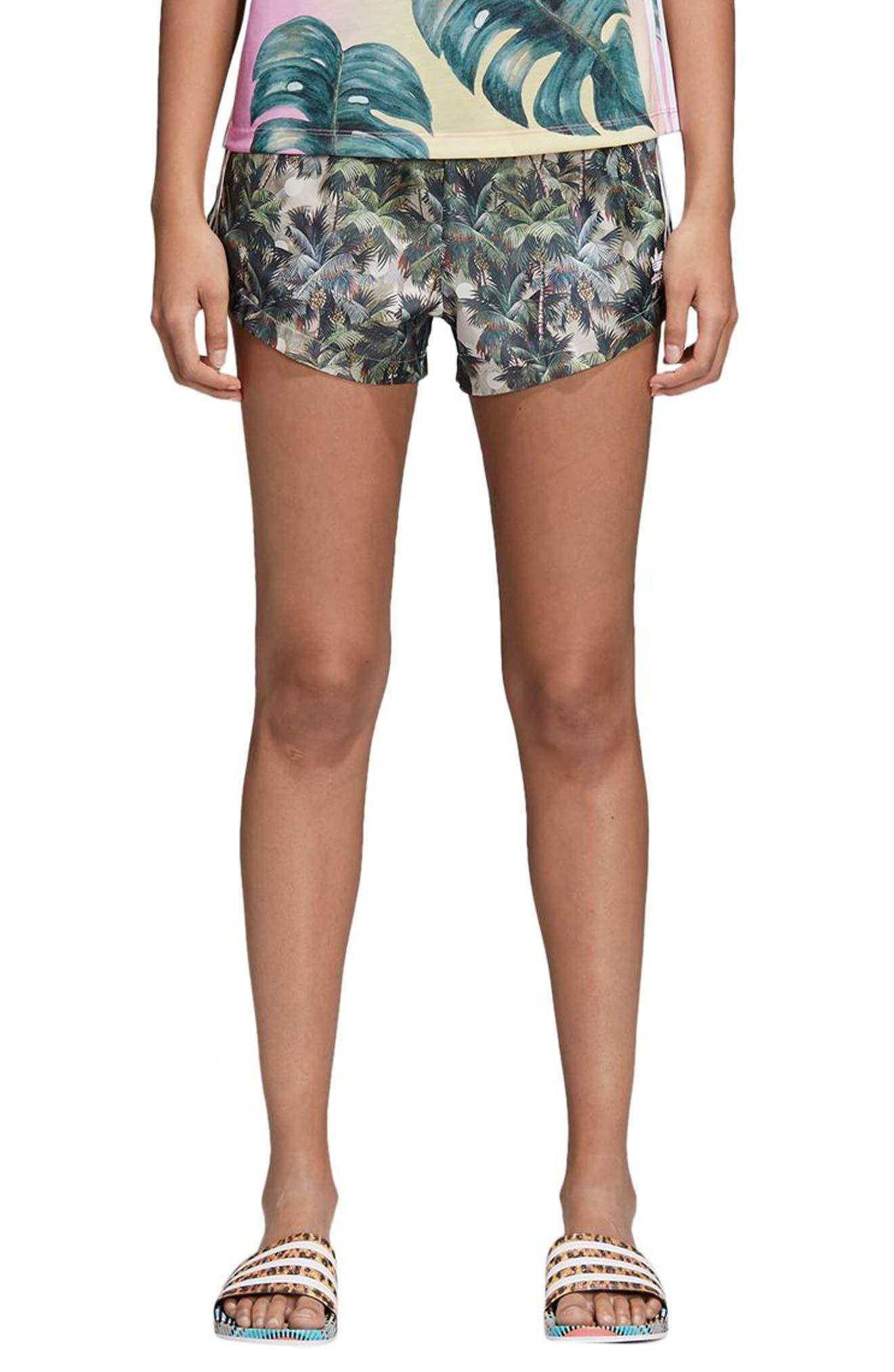 High Waist Shorts,                         Main,                         color, 300