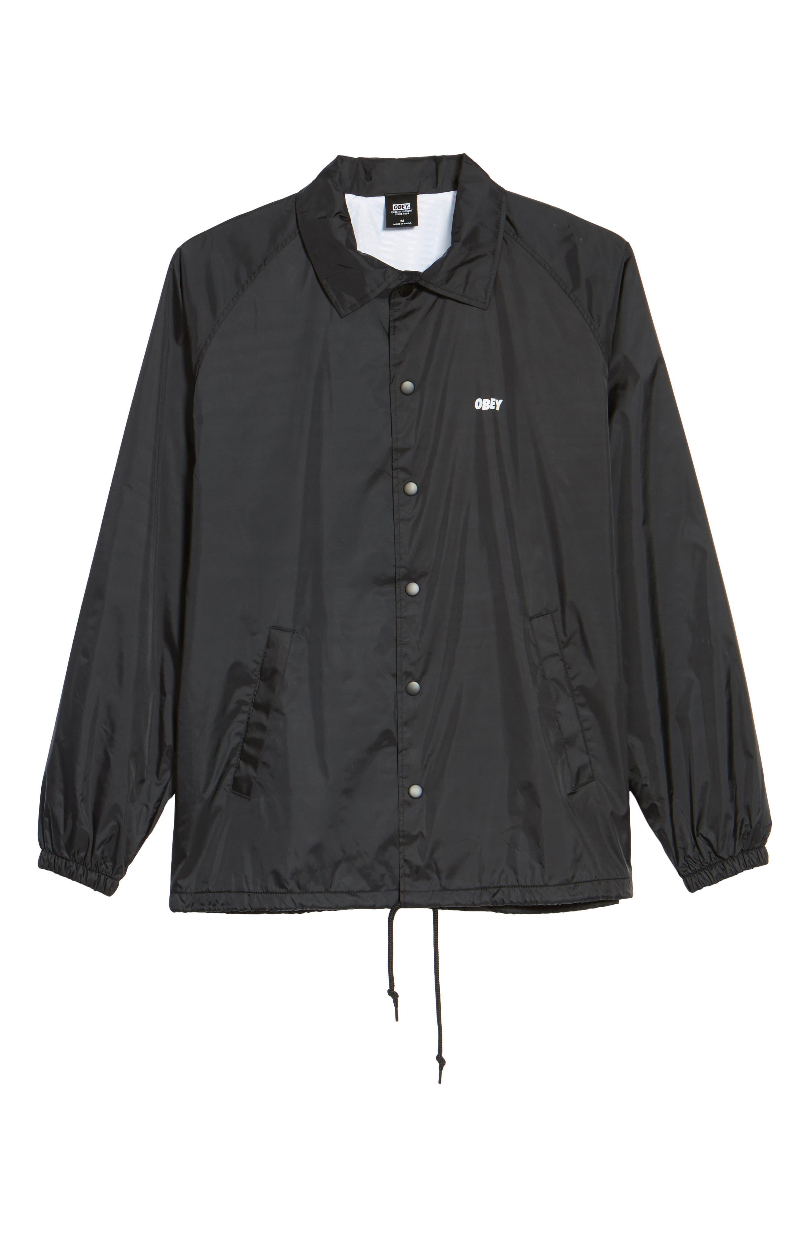 Lo-Fi Graphic Coach's Jacket,                             Alternate thumbnail 5, color,                             001
