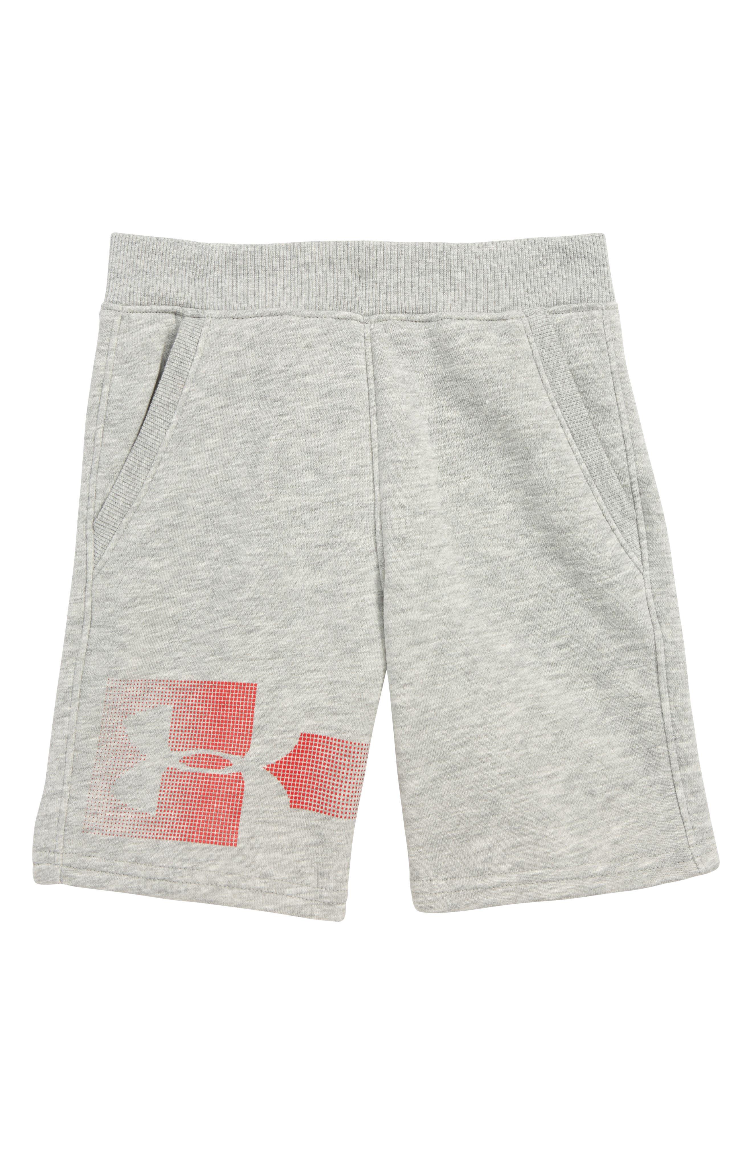 Rival HeatGear<sup>®</sup> Shorts,                             Main thumbnail 1, color,                             GREY