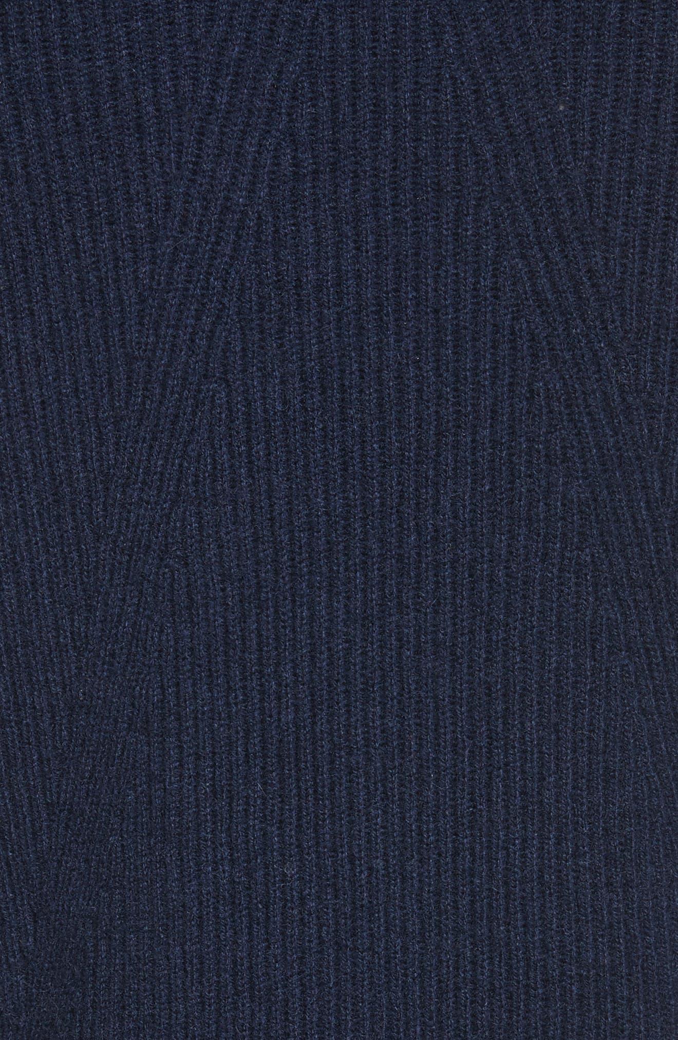 Ace Cashmere Crop Sweater,                             Alternate thumbnail 5, color,                             410