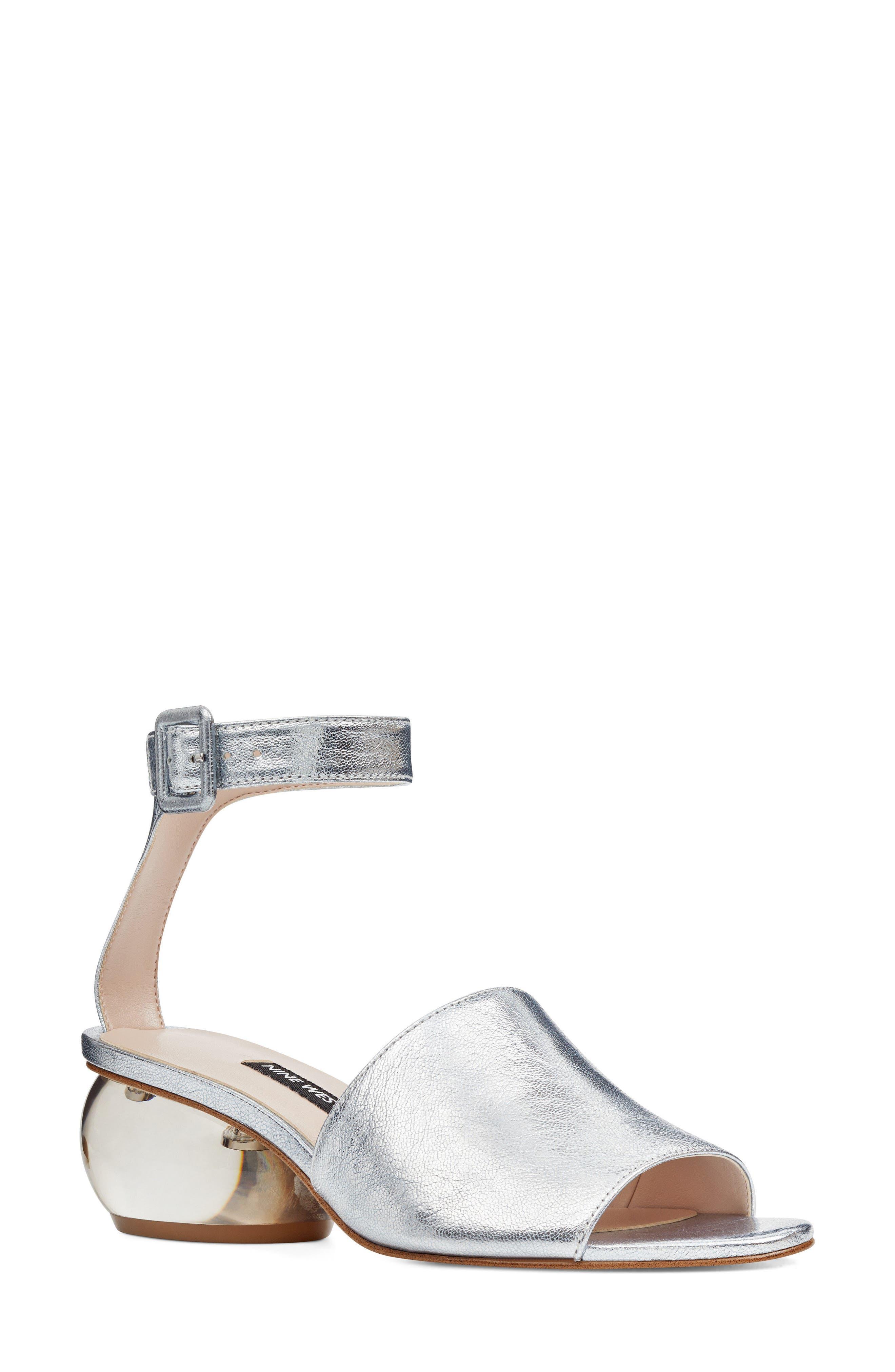 Enyo Clear Heel Sandal,                             Main thumbnail 2, color,