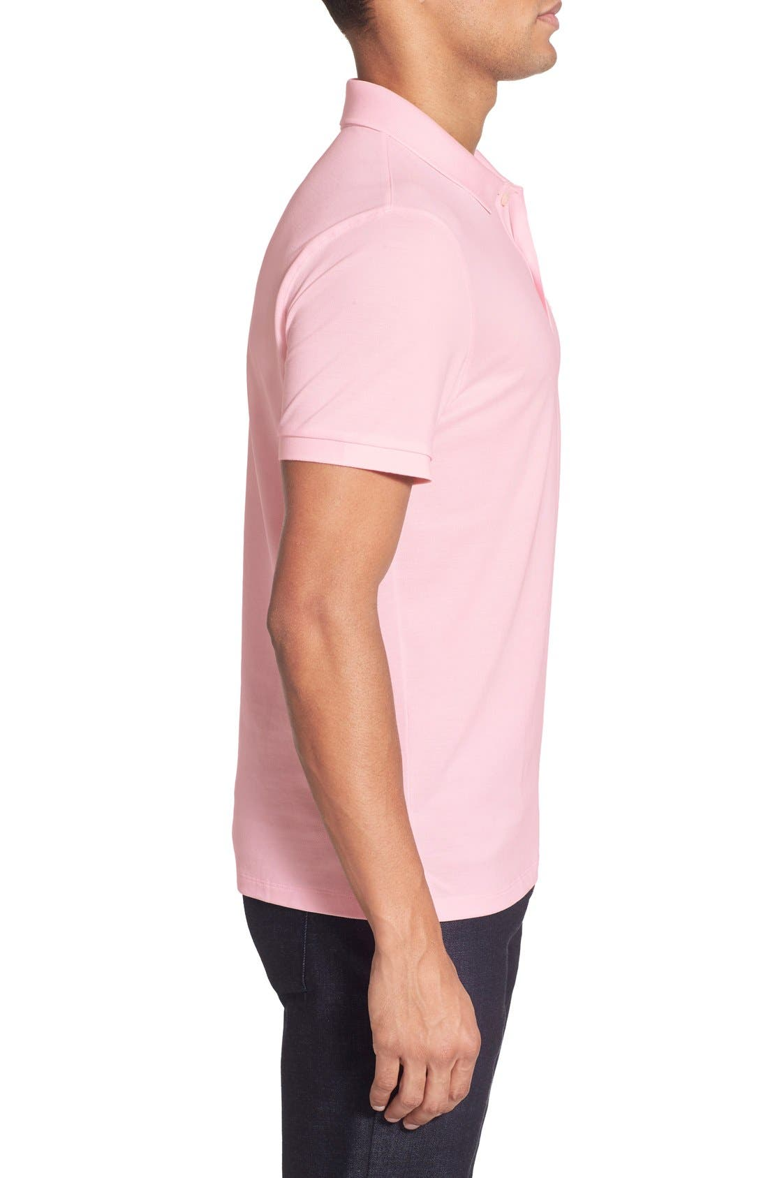 'Pallas' Regular Fit Logo Embroidered Polo Shirt,                             Alternate thumbnail 51, color,