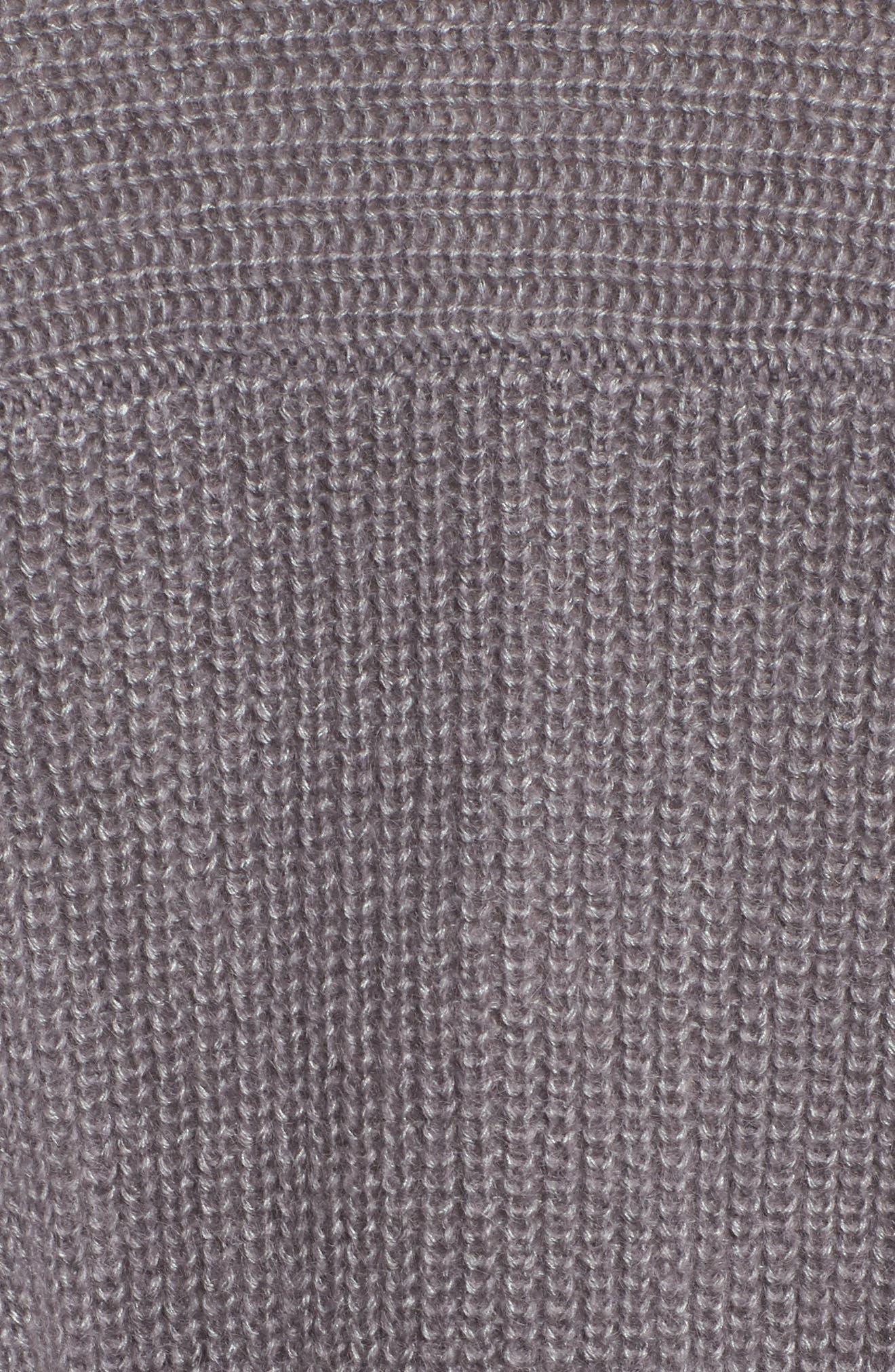 Lace-Up Back Cardigan,                             Alternate thumbnail 5, color,                             021