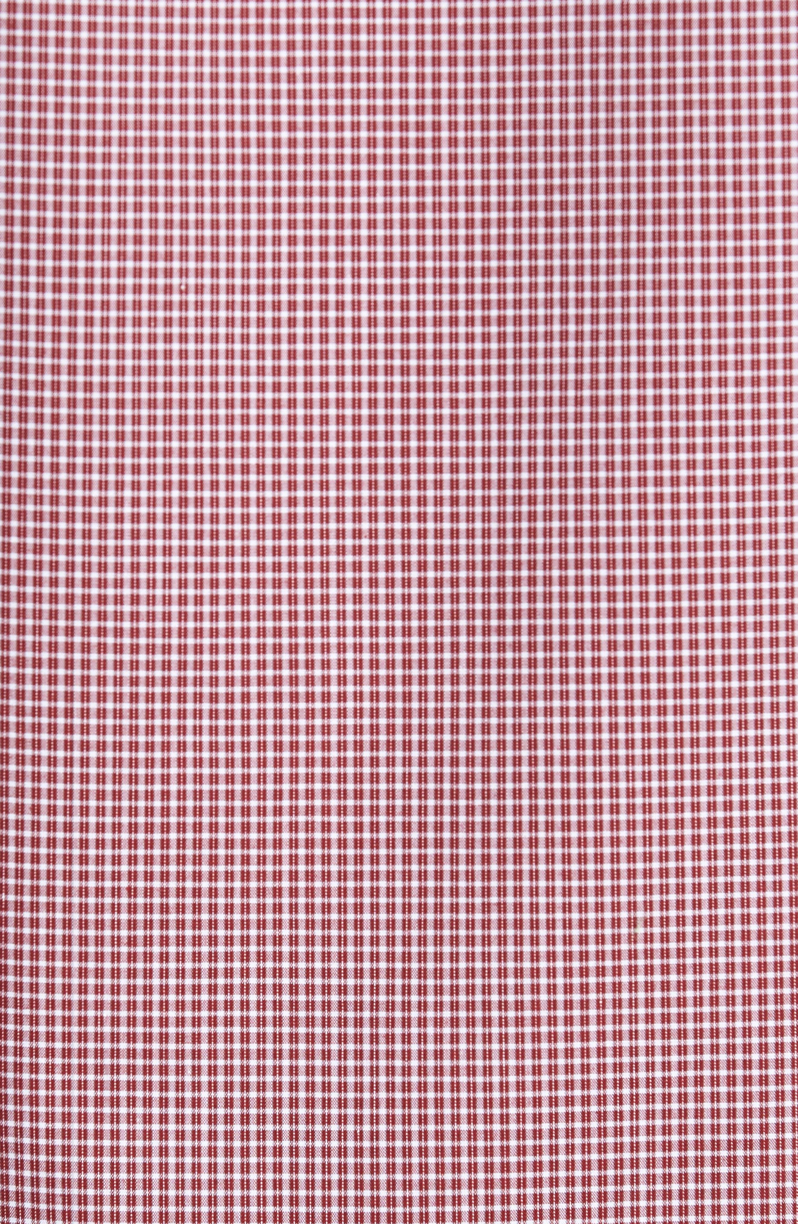 Non-Iron Microcheck Sport Shirt,                             Alternate thumbnail 5, color,                             610