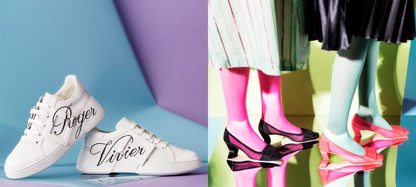Roger Vivier shoes.